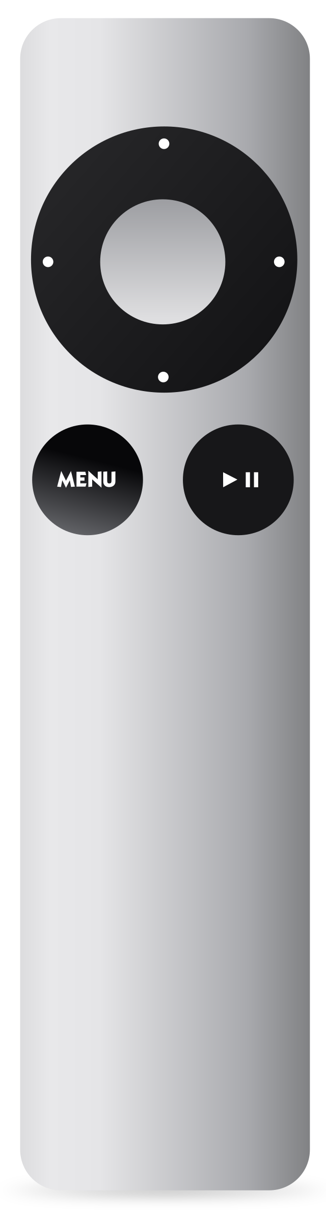 Apple Remote Aluminum by jhnri4