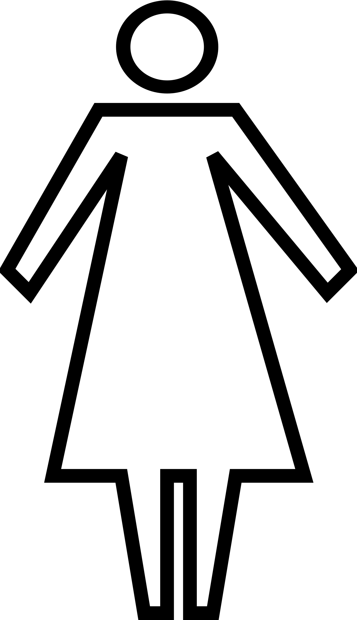 toilet women bathroom large filetoilet spirit man svg commons file womensvg gallery sign woman wikimedia open decoration female