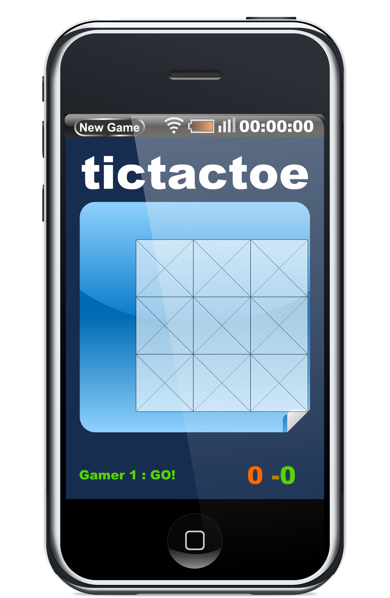 Javascript Phone Tictactoe Game by filtre