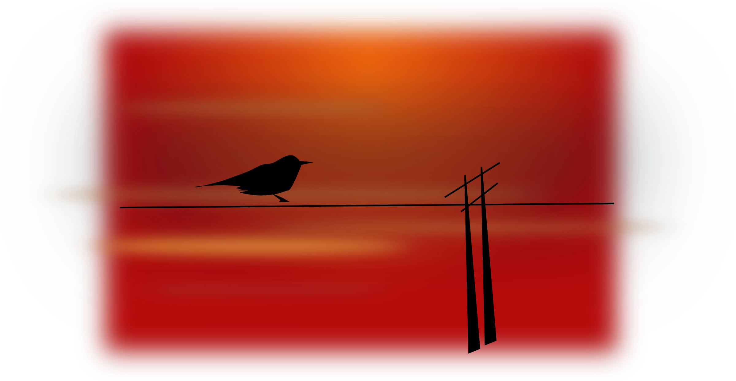 bird on wire by netalloy