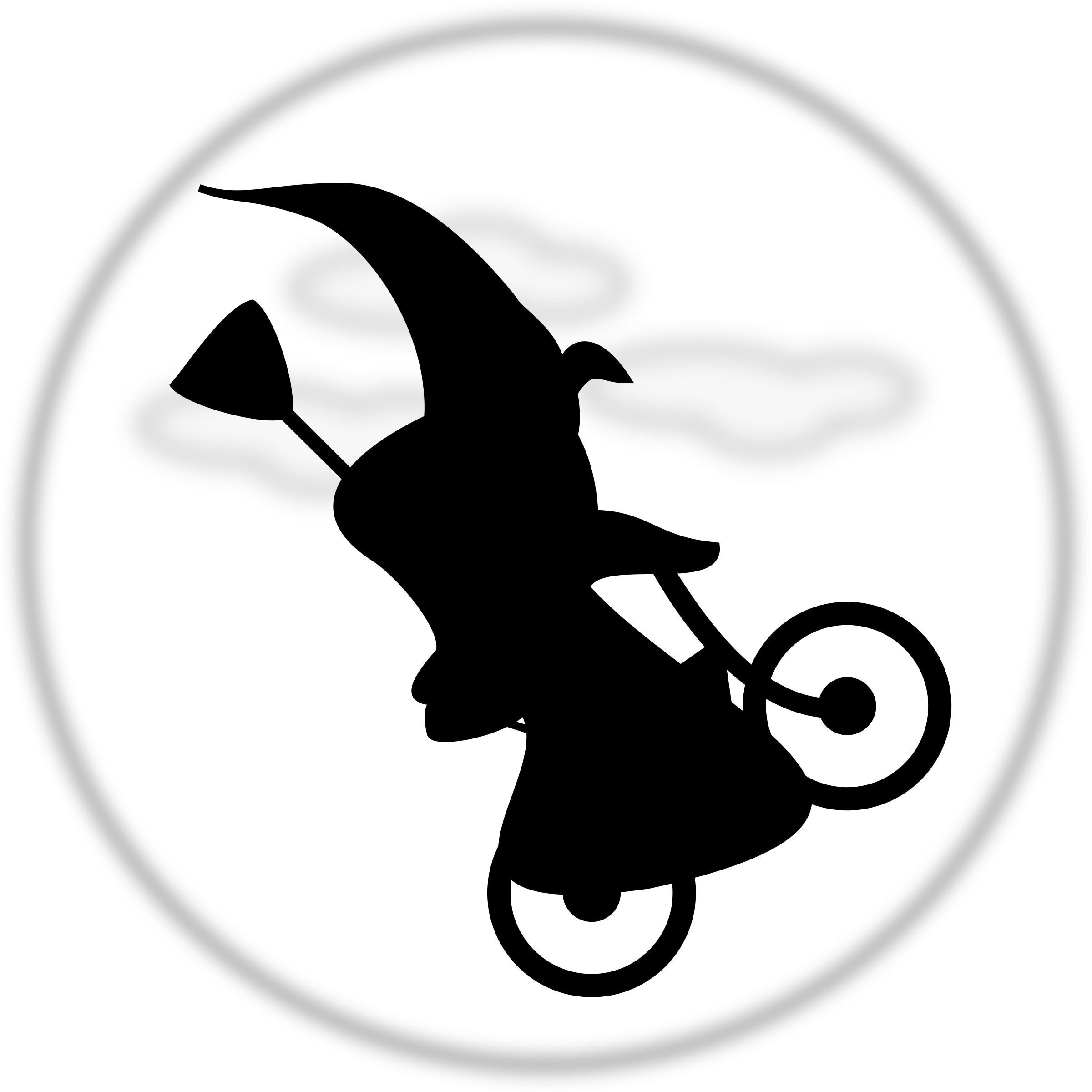 WitchOnABicycle by TomBrough