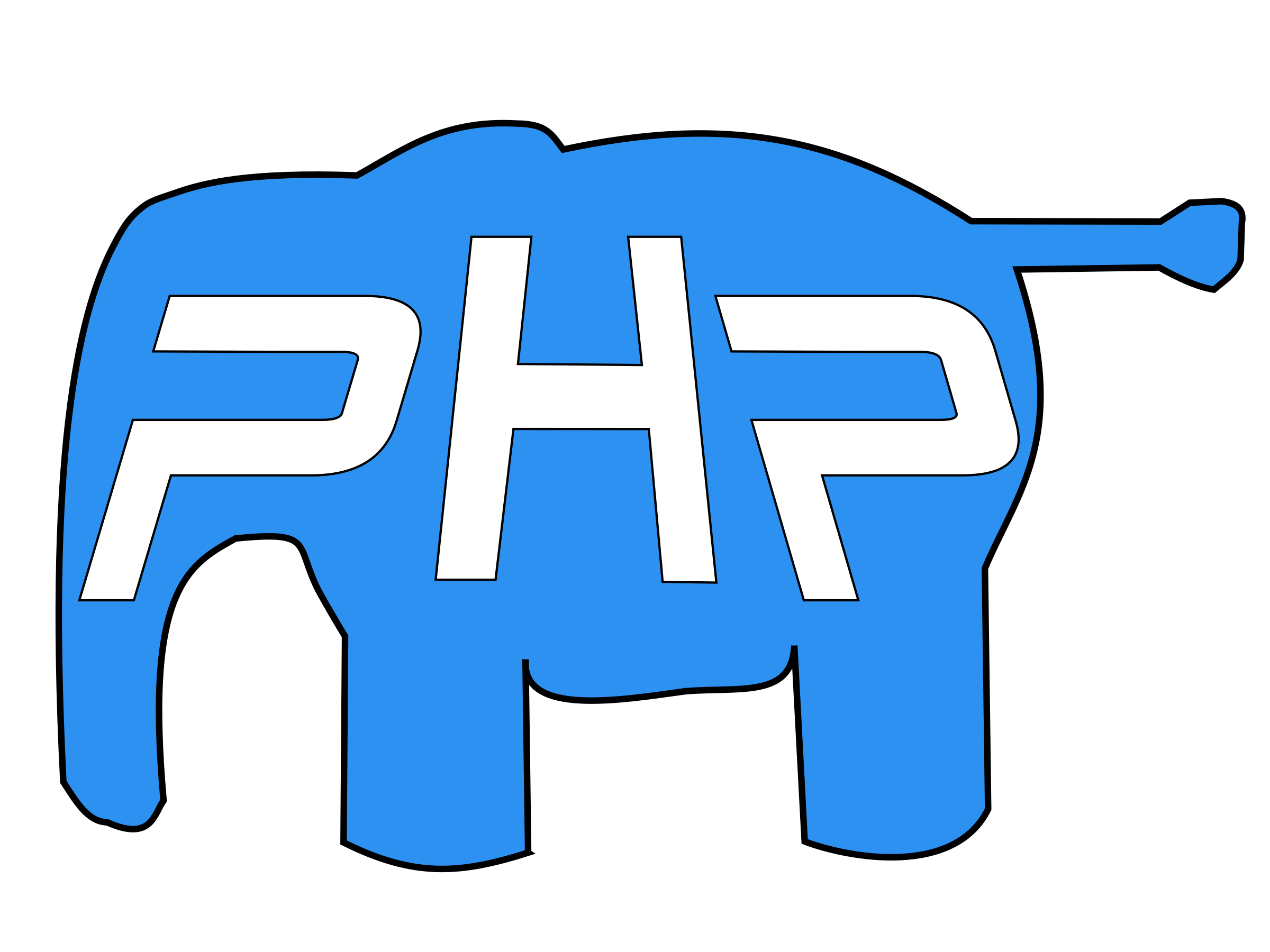 PHP elephant by asrafil
