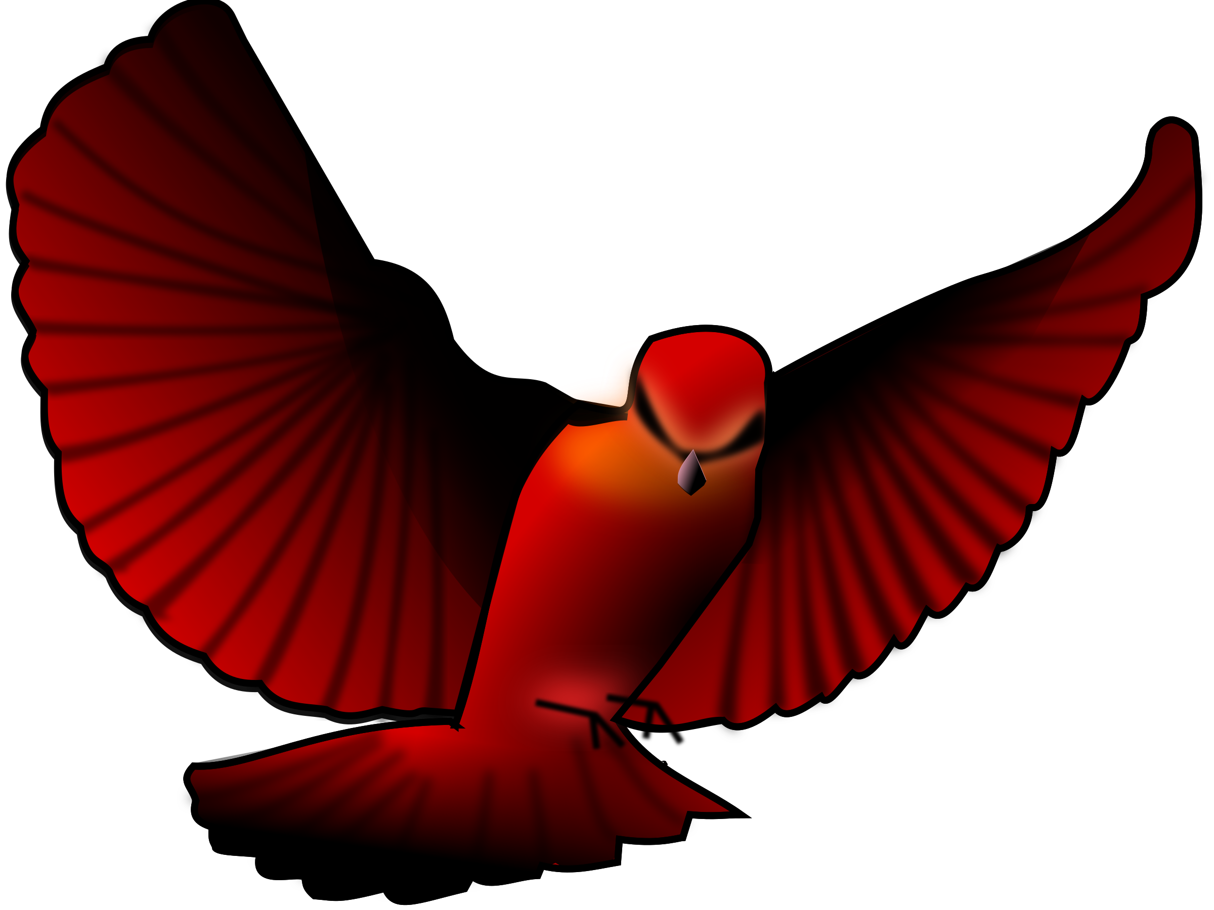 Red_bird by asrafil