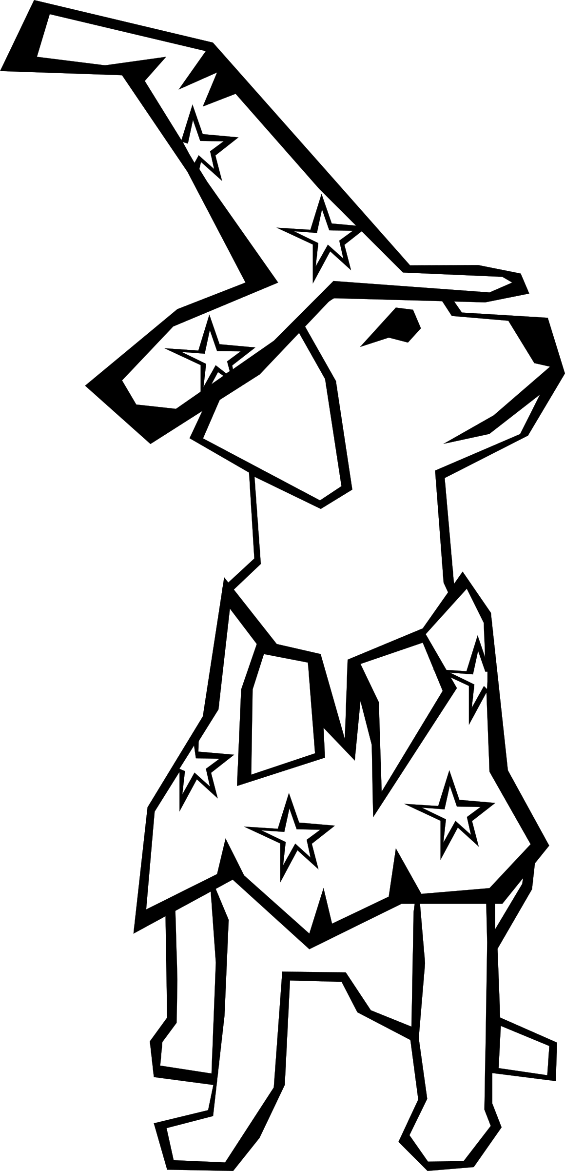 Dog (Simple Drawing) by Gerald_G