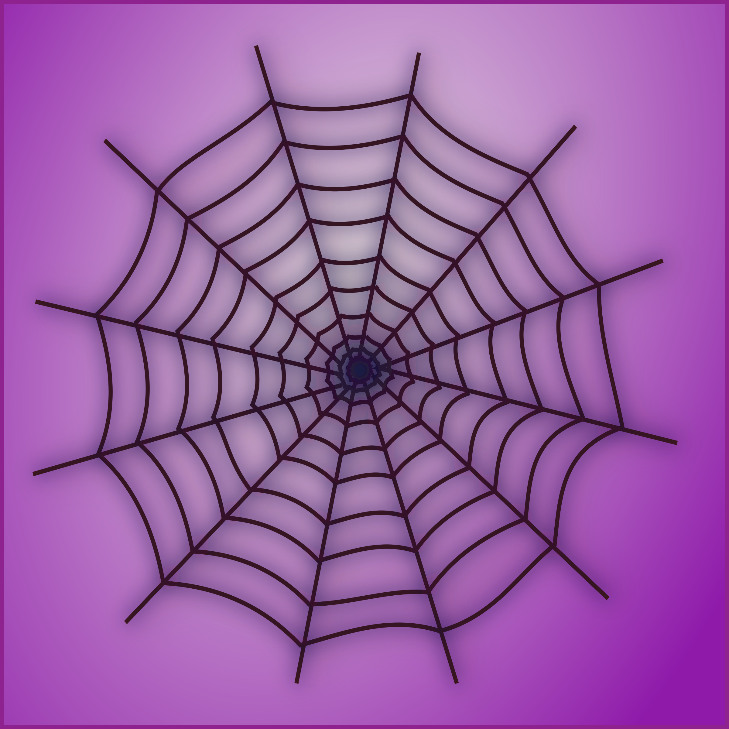 Spider Web Icon 2 by netalloy