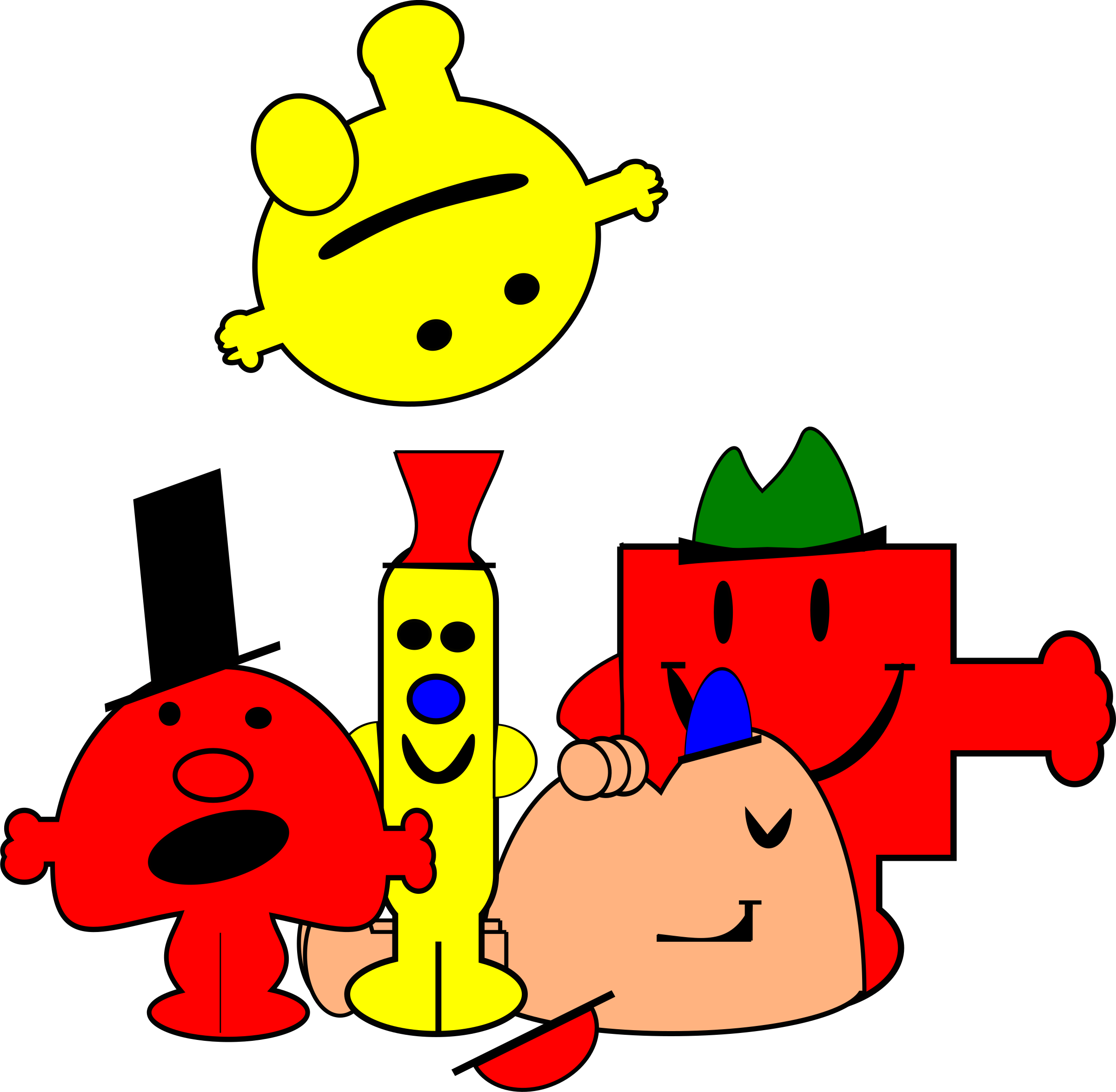 mr men by PeterBrough