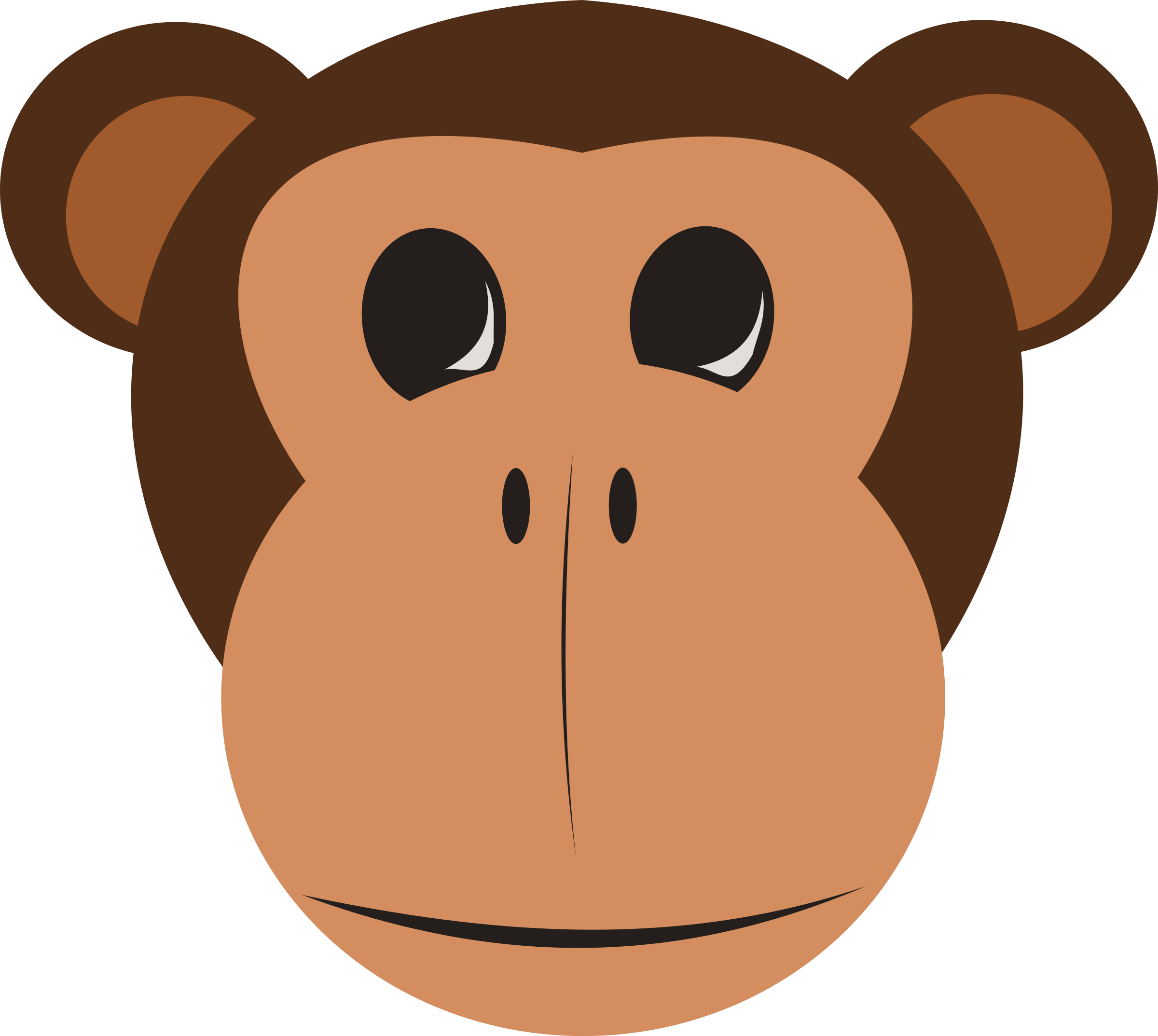 Monkey Face by stevepetmonkey