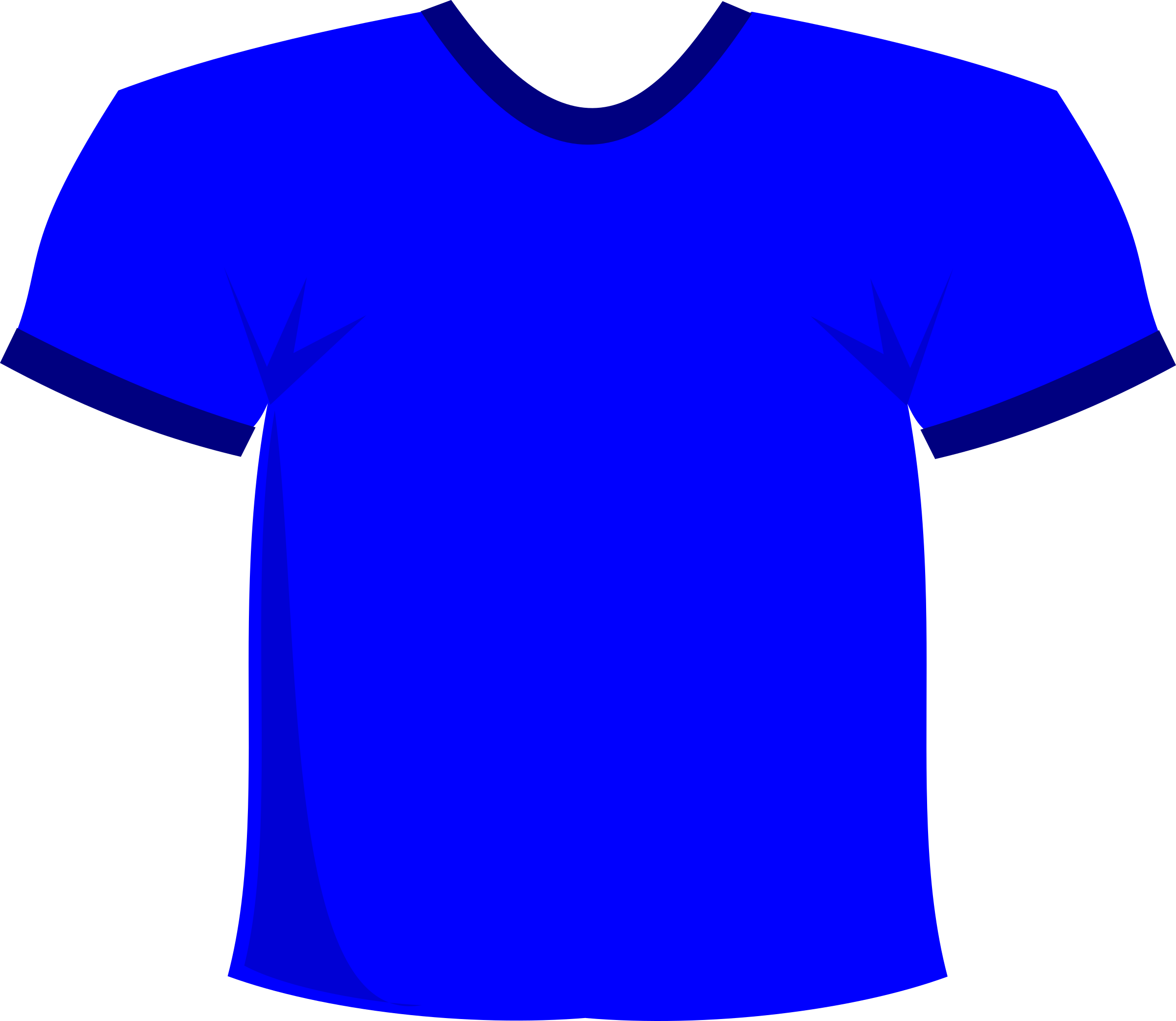 T-Shirt Blue by stevepetmonkey