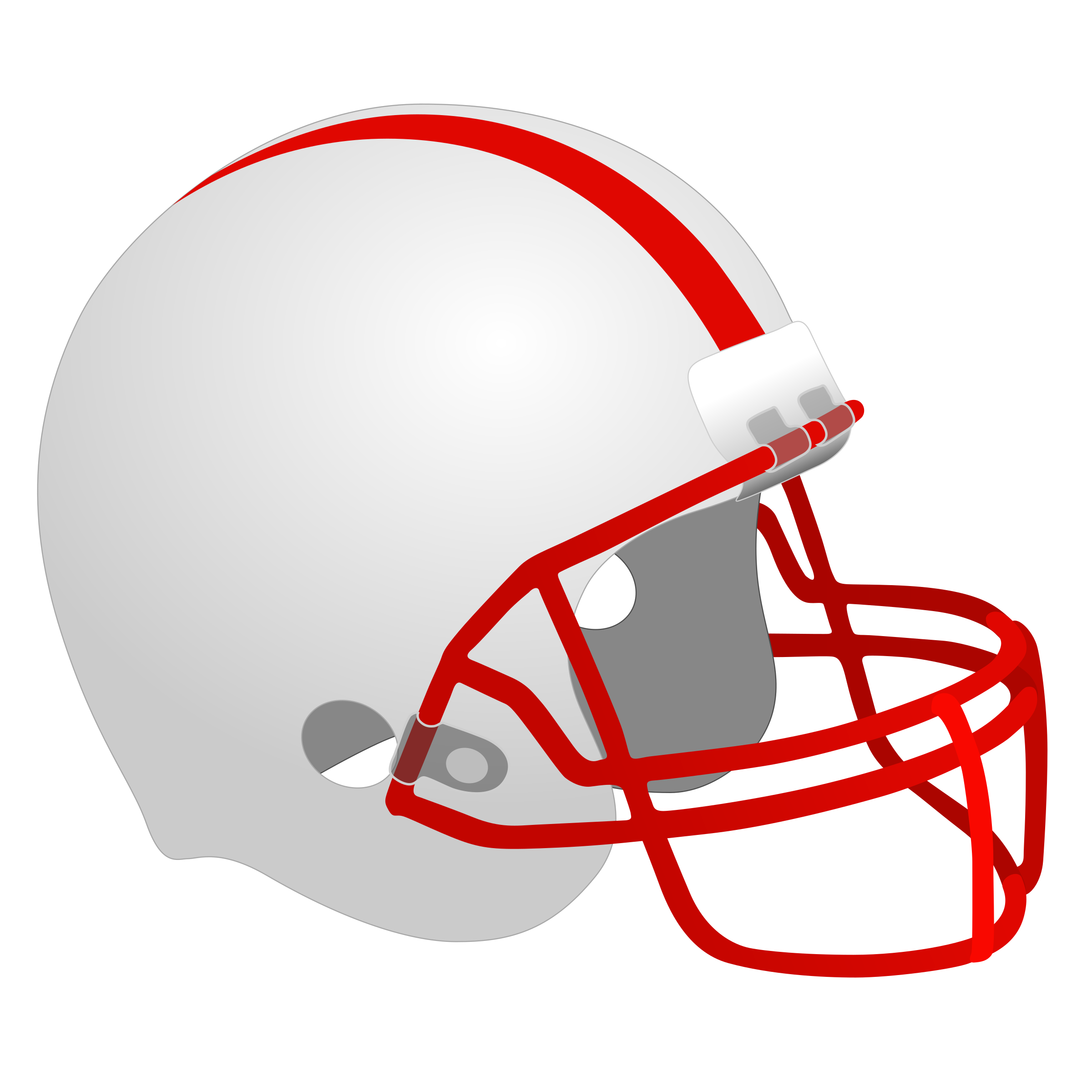 Football Helmet by Simanek