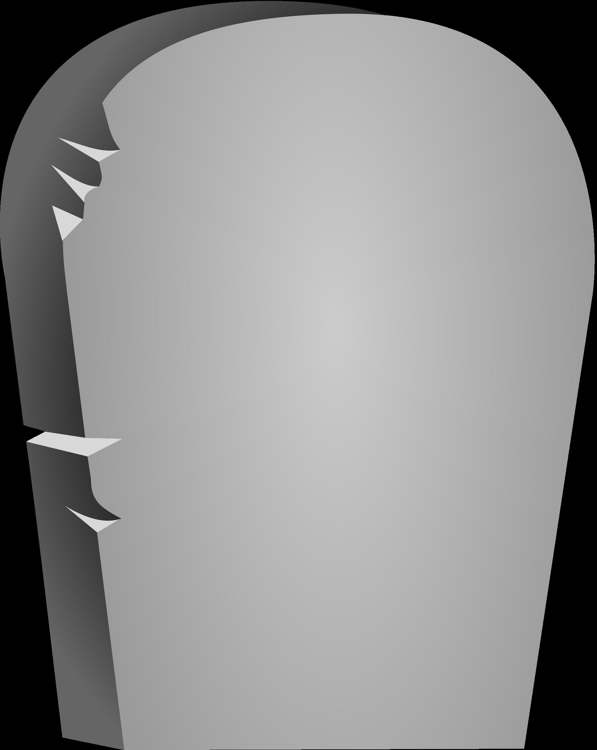 blank gravestone template