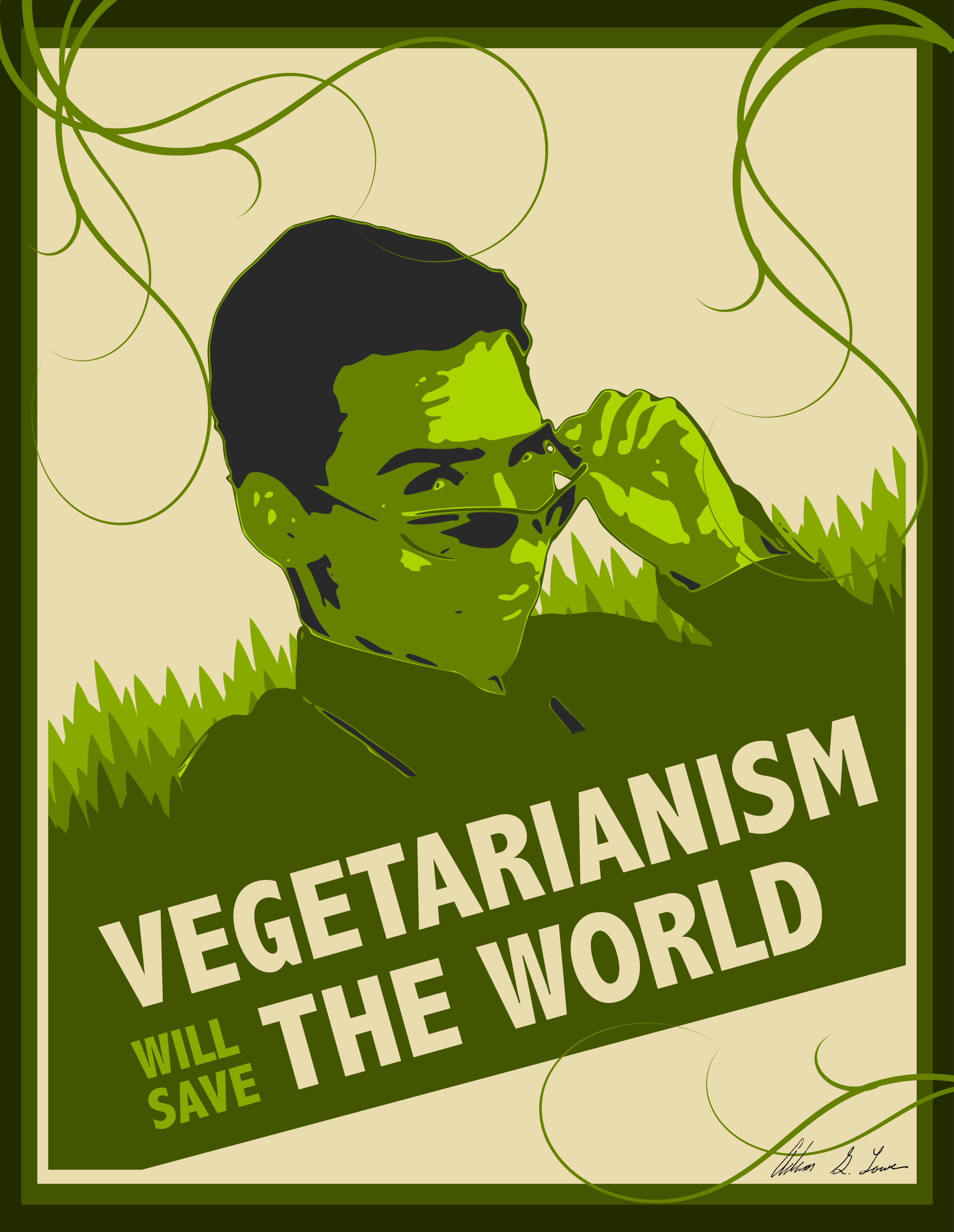Vegetarianism Will Save The World by adam_lowe