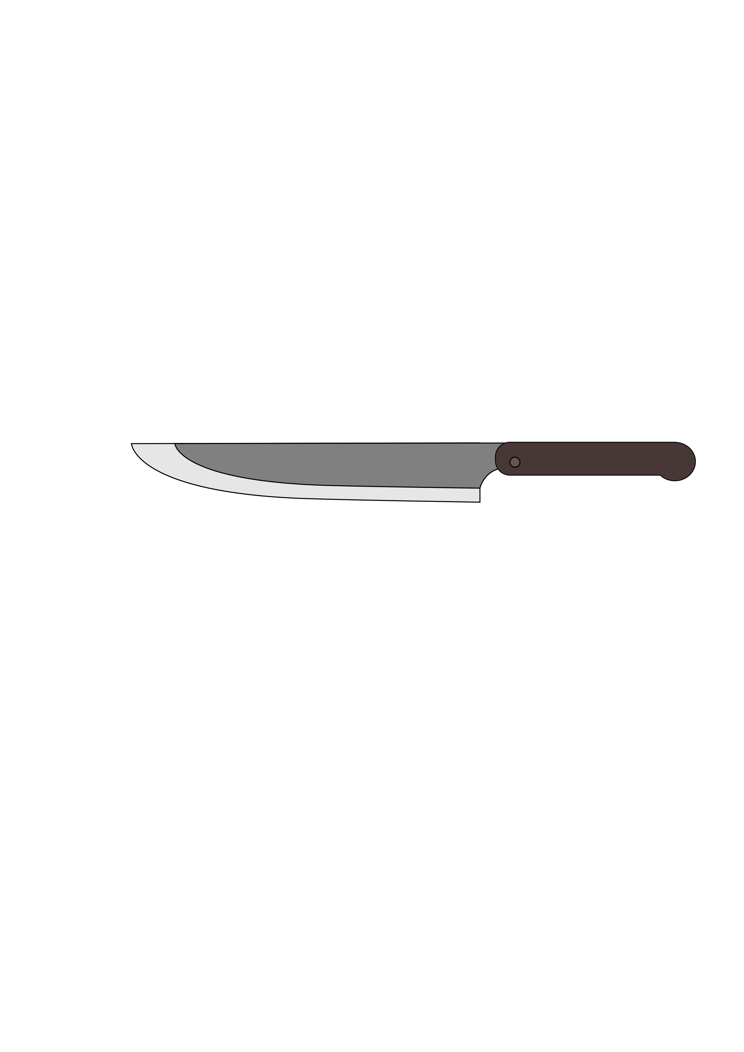 Kitchen Knife by wildchief