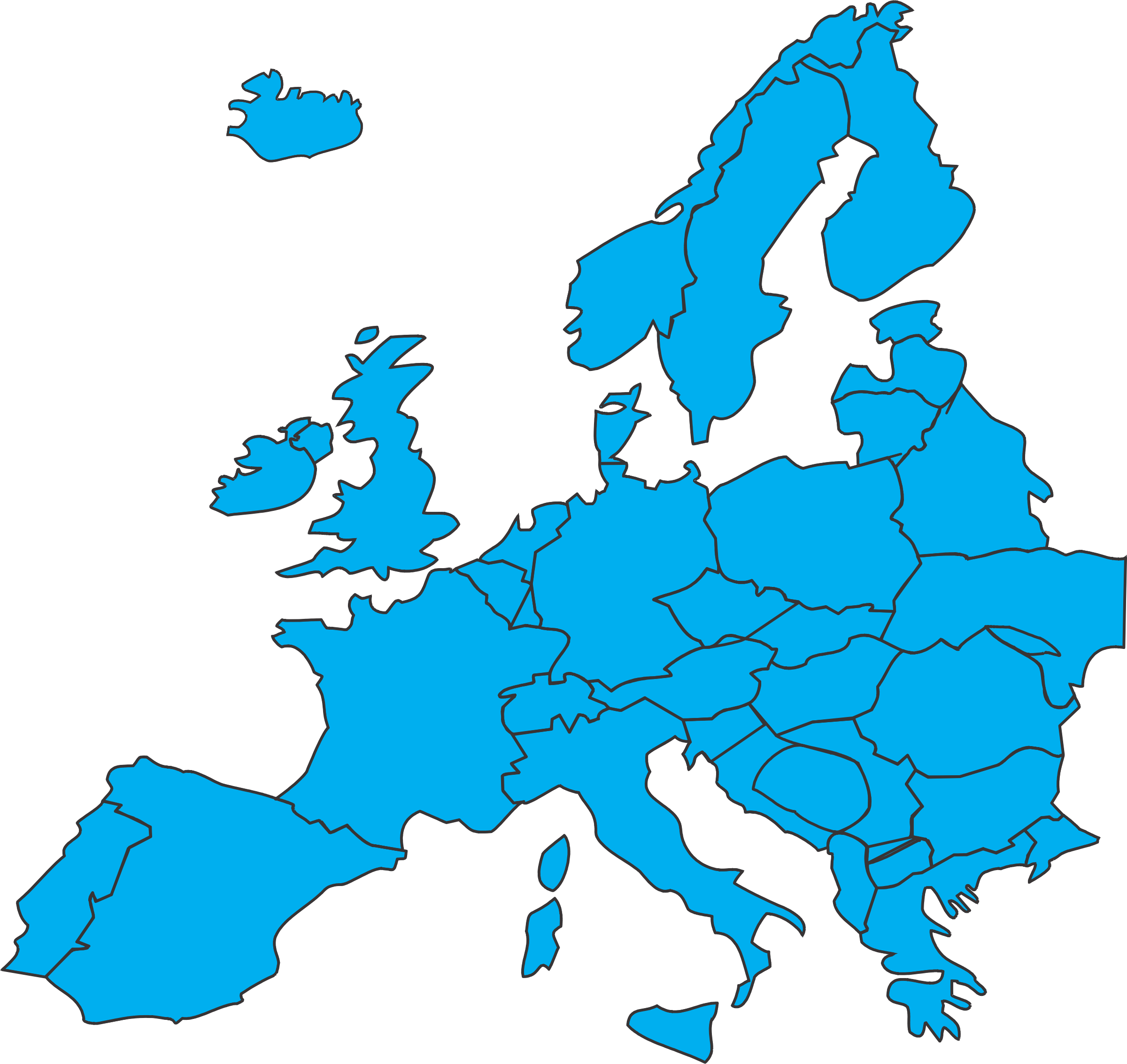 Clipart European Map - European map