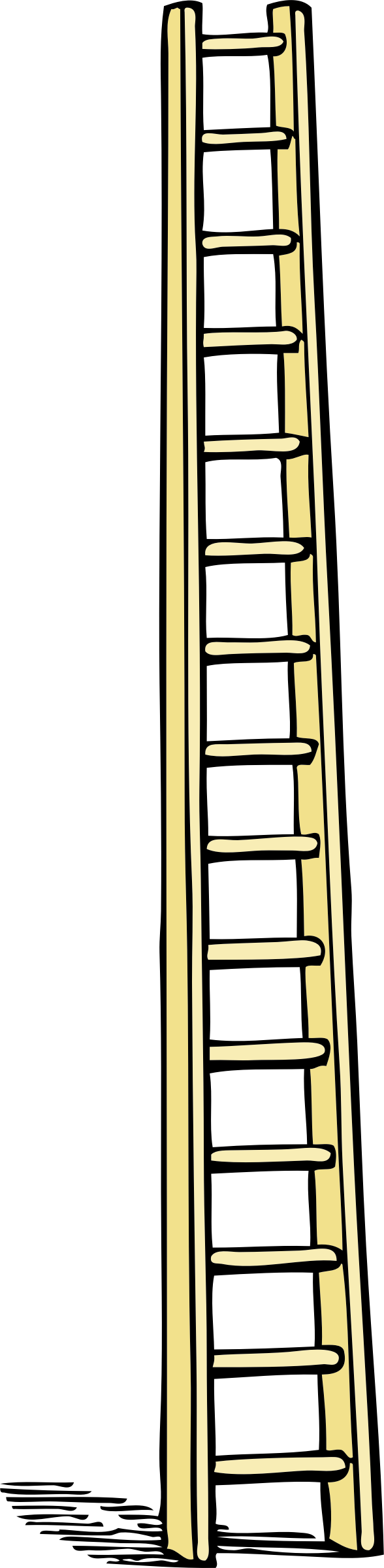 tall ladder by johnny_automatic