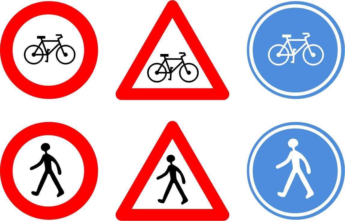 Traffic signs by RobertCailliau