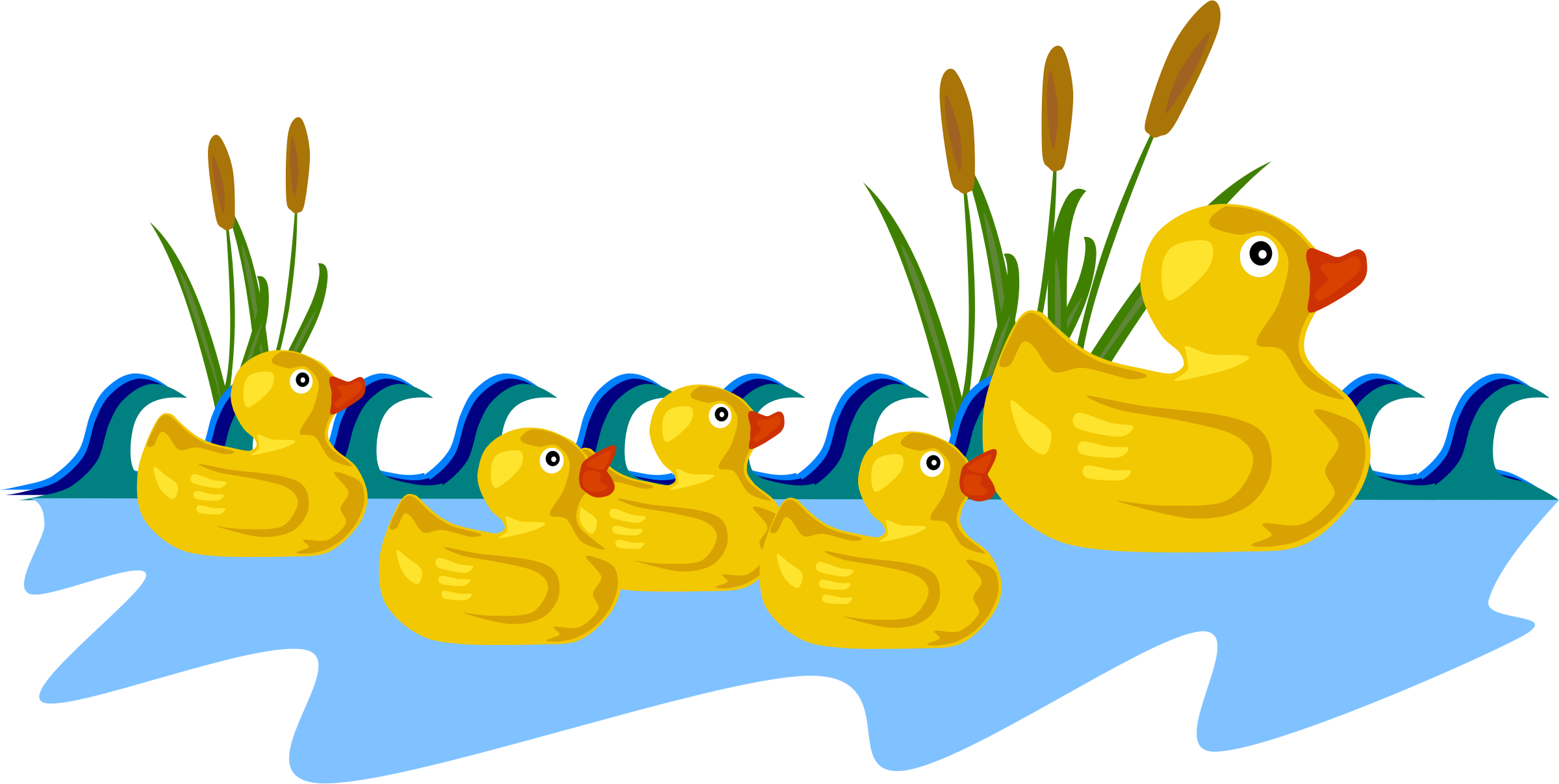 Rubber Duck Family by Gerald_G