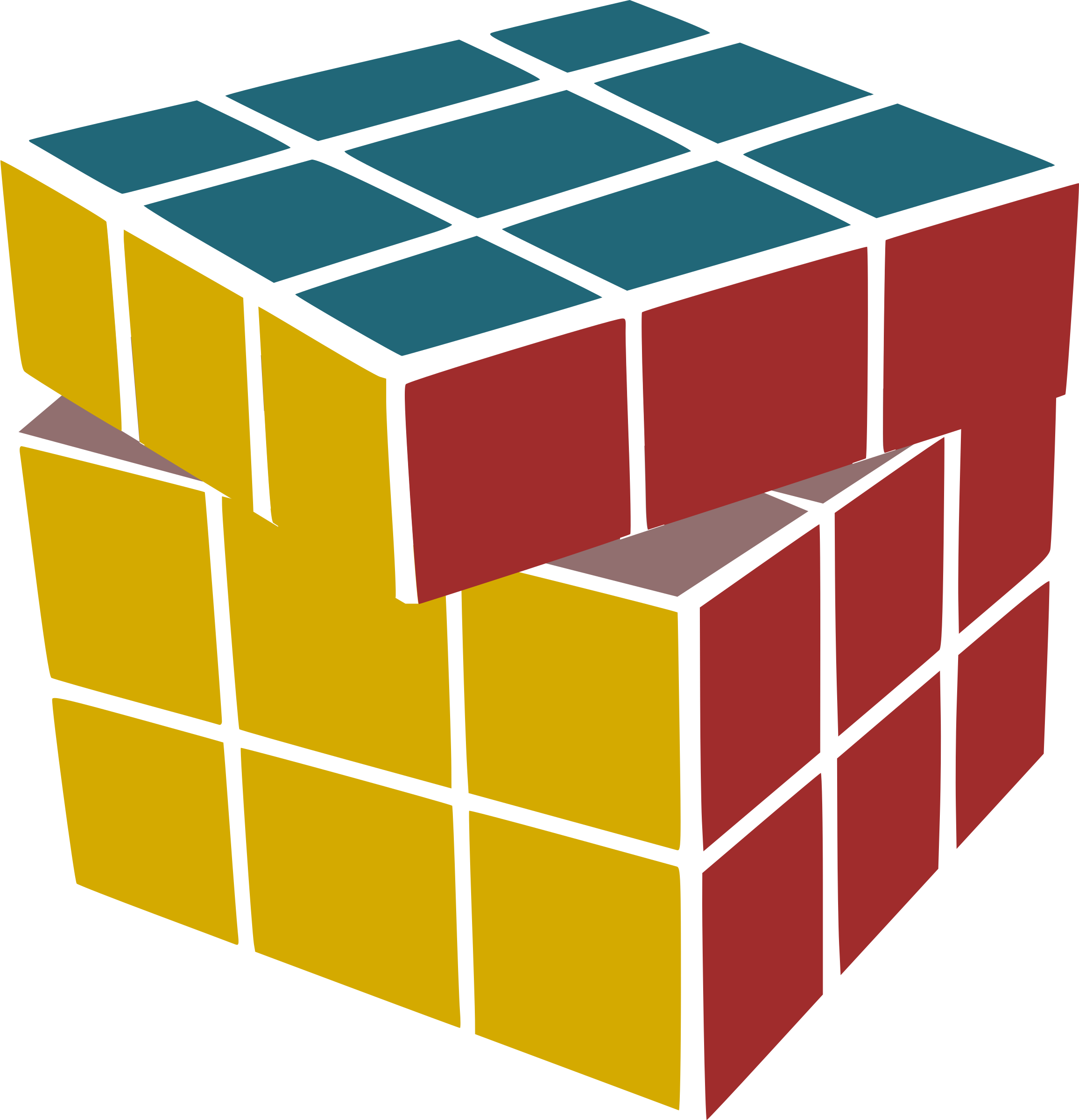Rubik's Scrambled by leogg