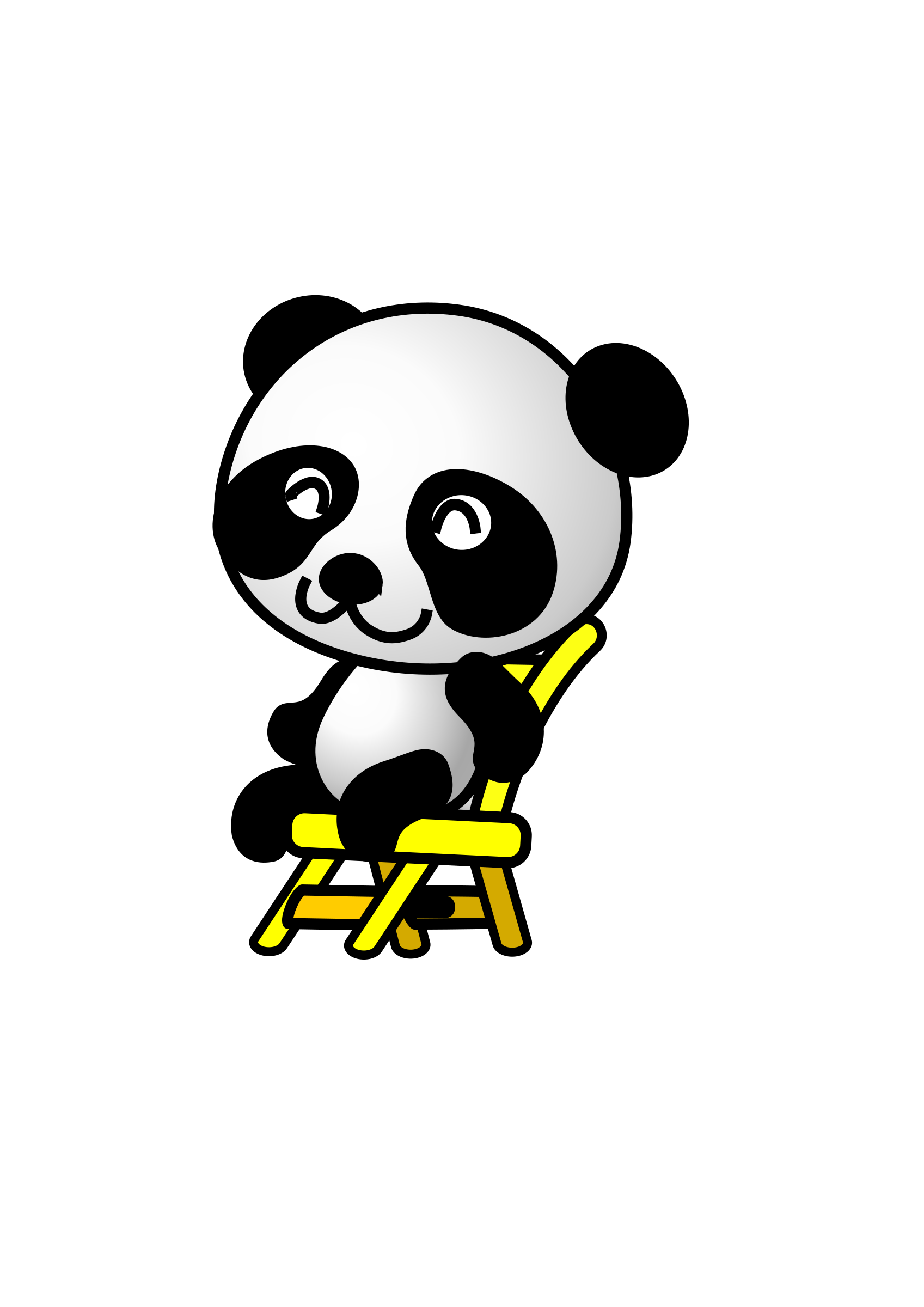 chair,panda by shu