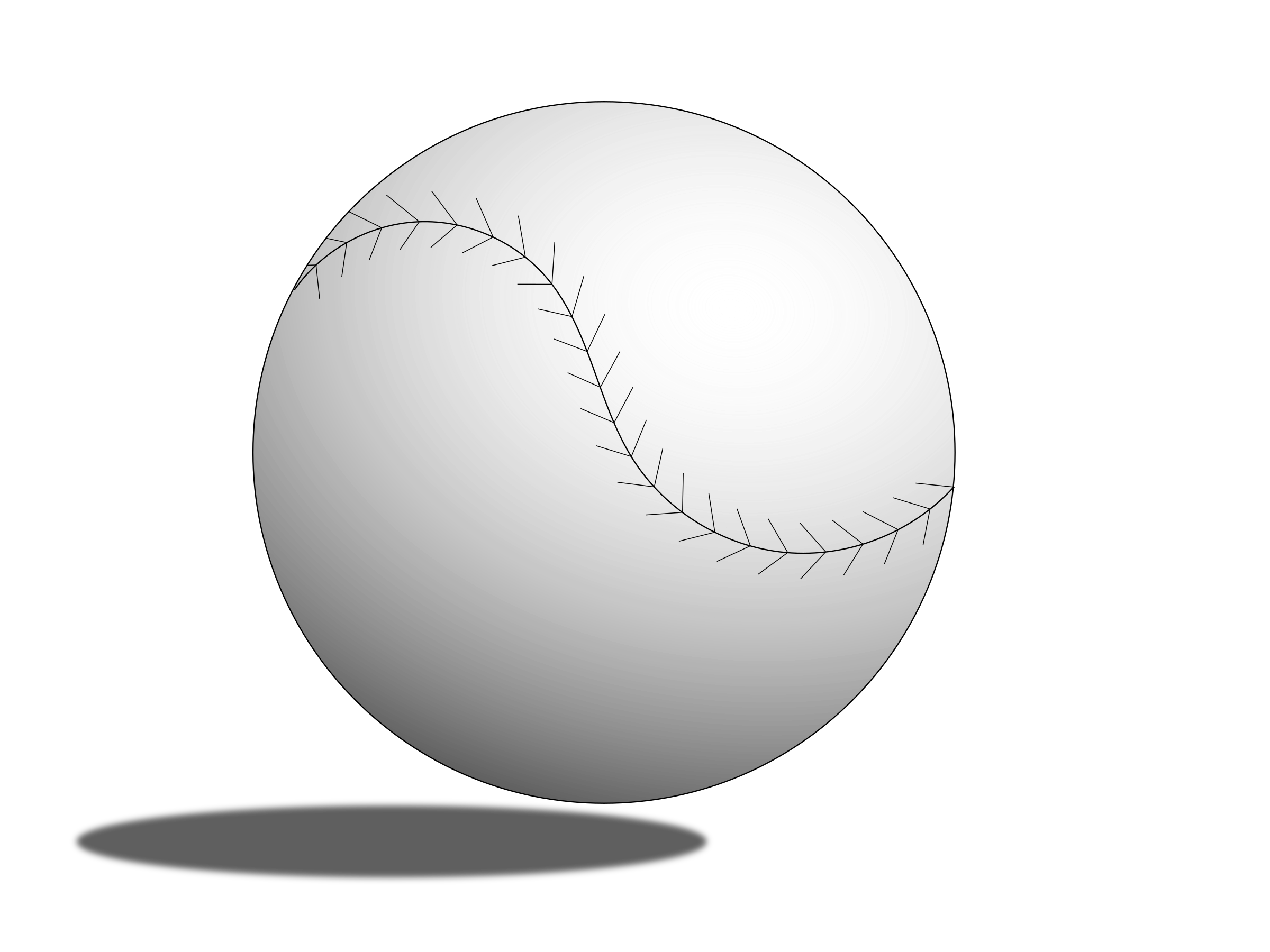 Baseball Ball by Tjoepoe