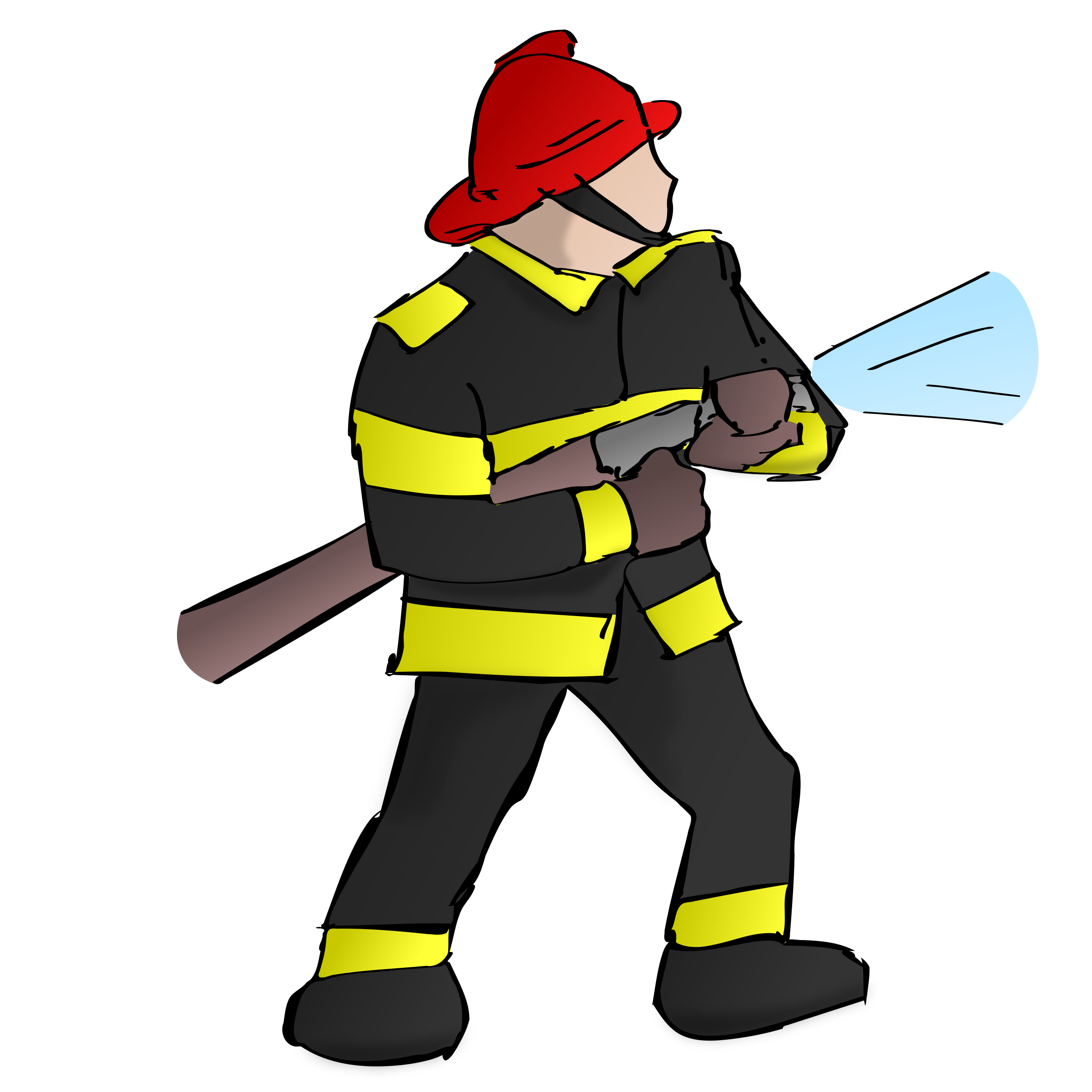clipart fire fighter rh openclipart org firefighter badge clipart firefighter badge clipart