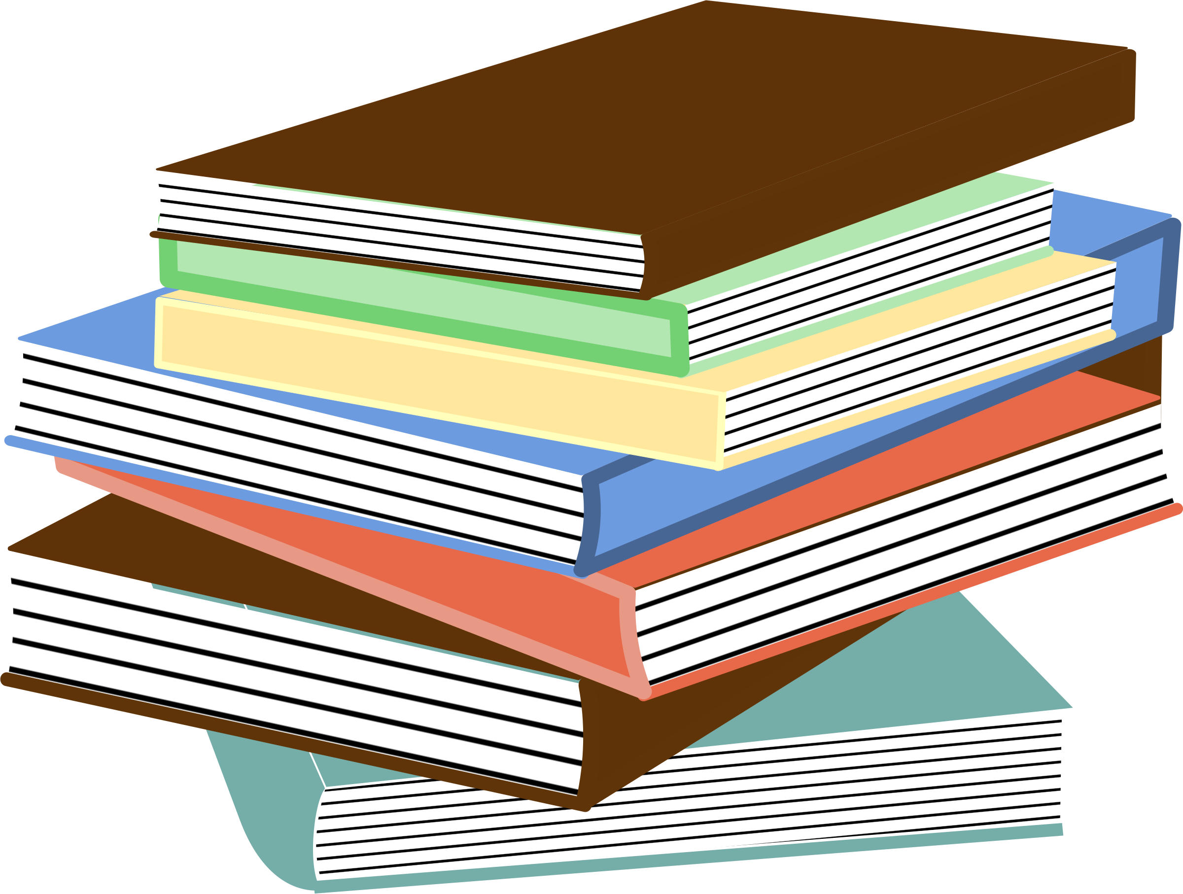 stack of books 01 by eady