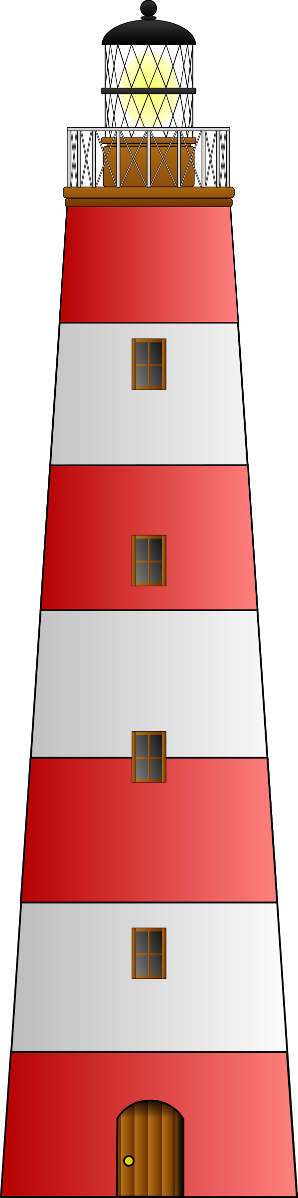 lighthouse matthew gates  by Anonymous