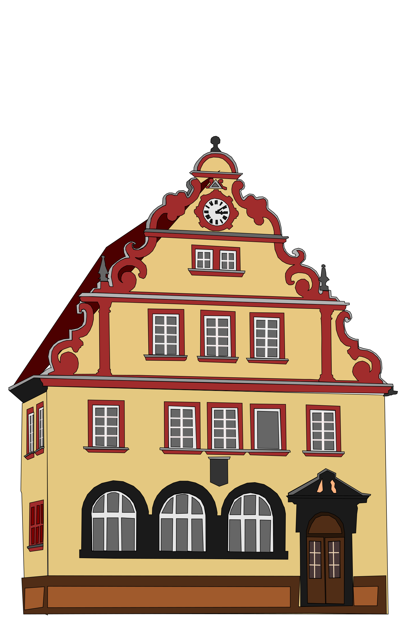 Town Hall Bad Rodach by binameusl