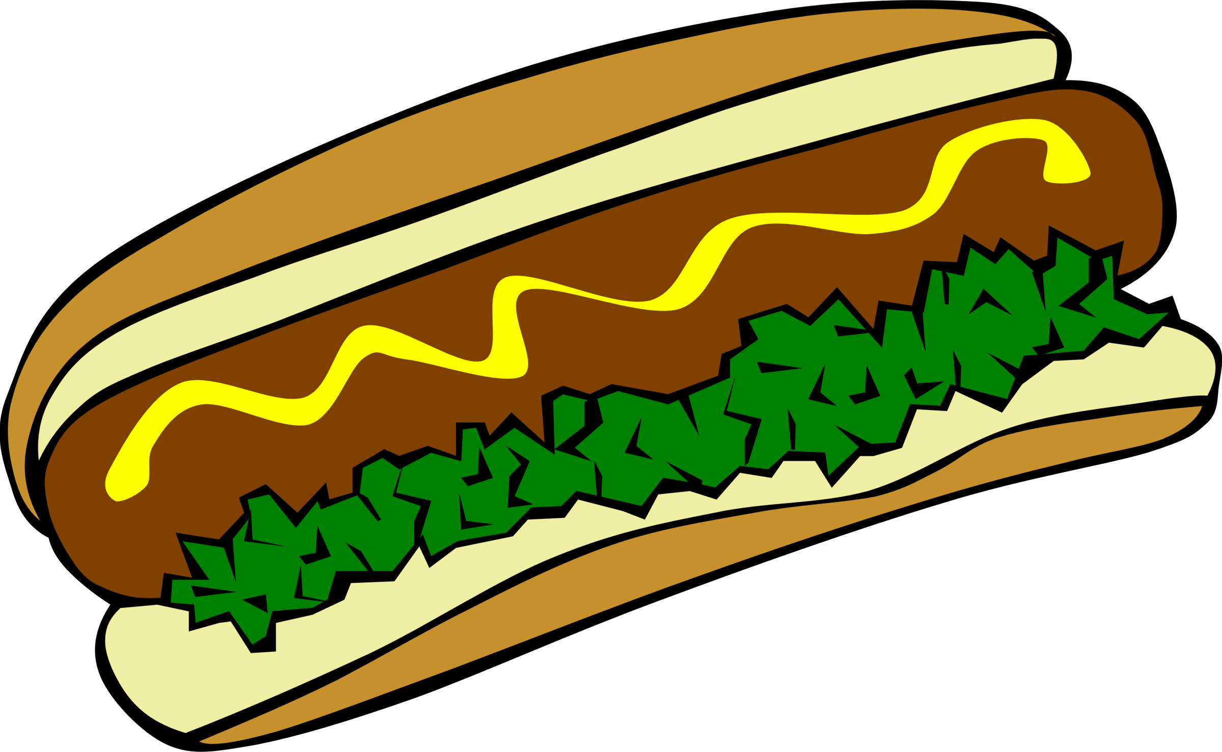 Clipart - Fast Food, Lunch-Dinner, Hot Dog