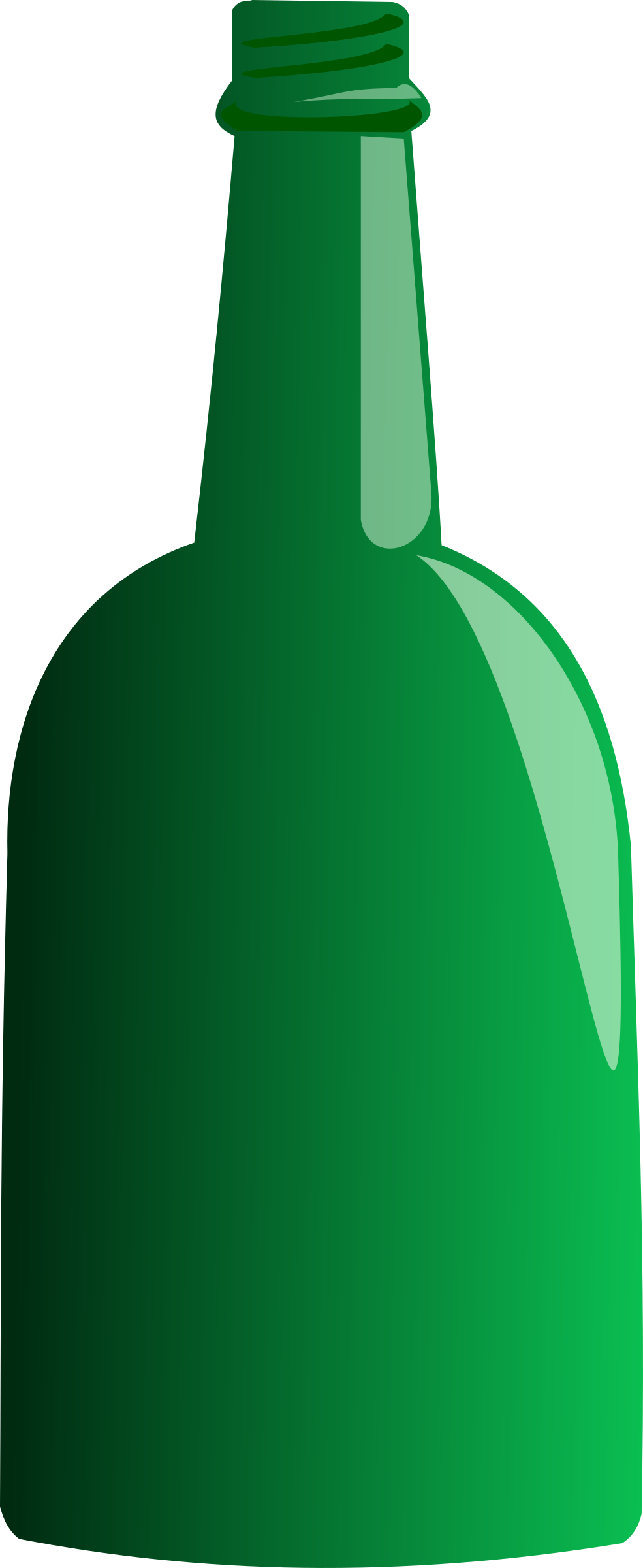 Green Bottle by stevepetmonkey