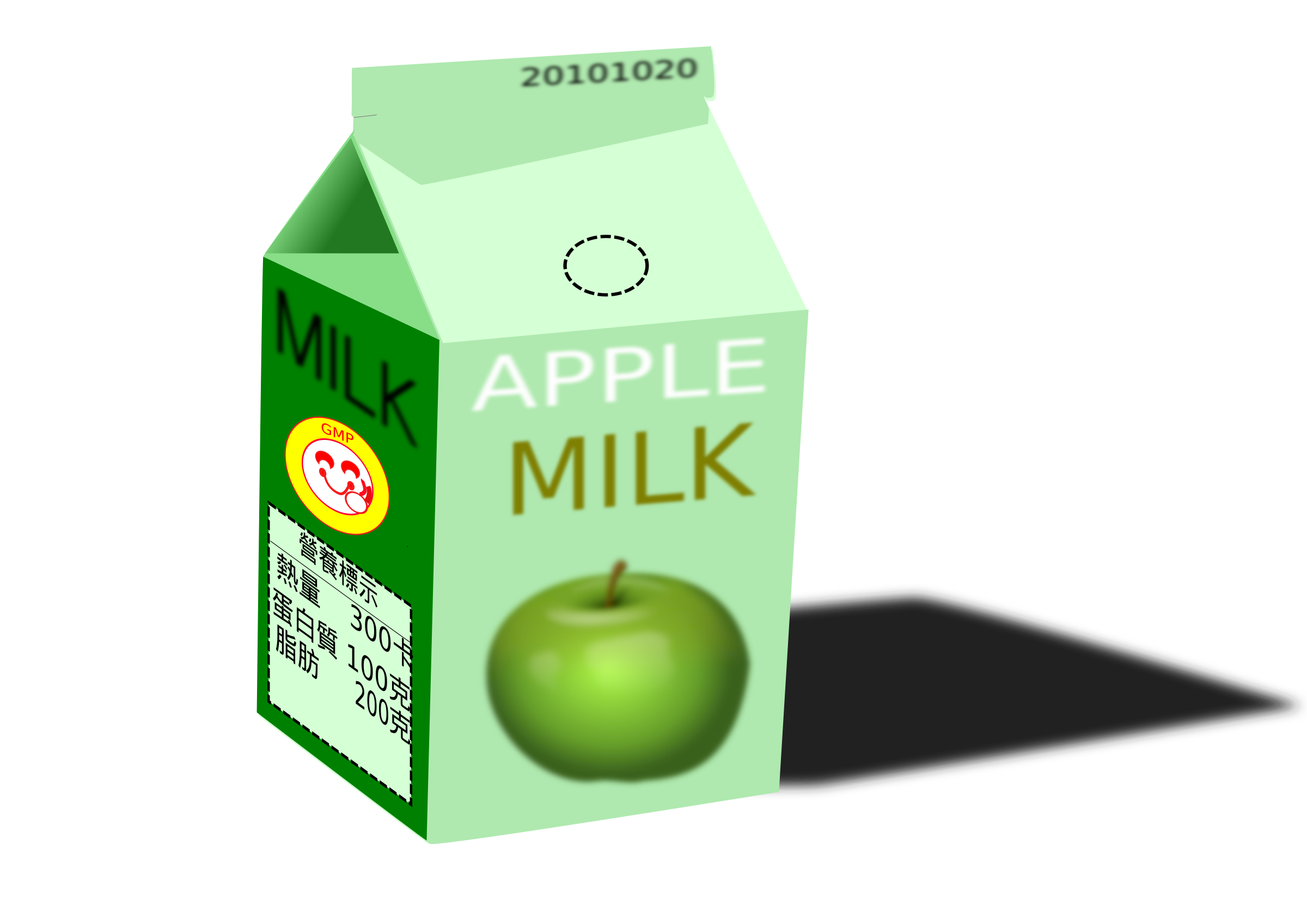 apple milk by inks046