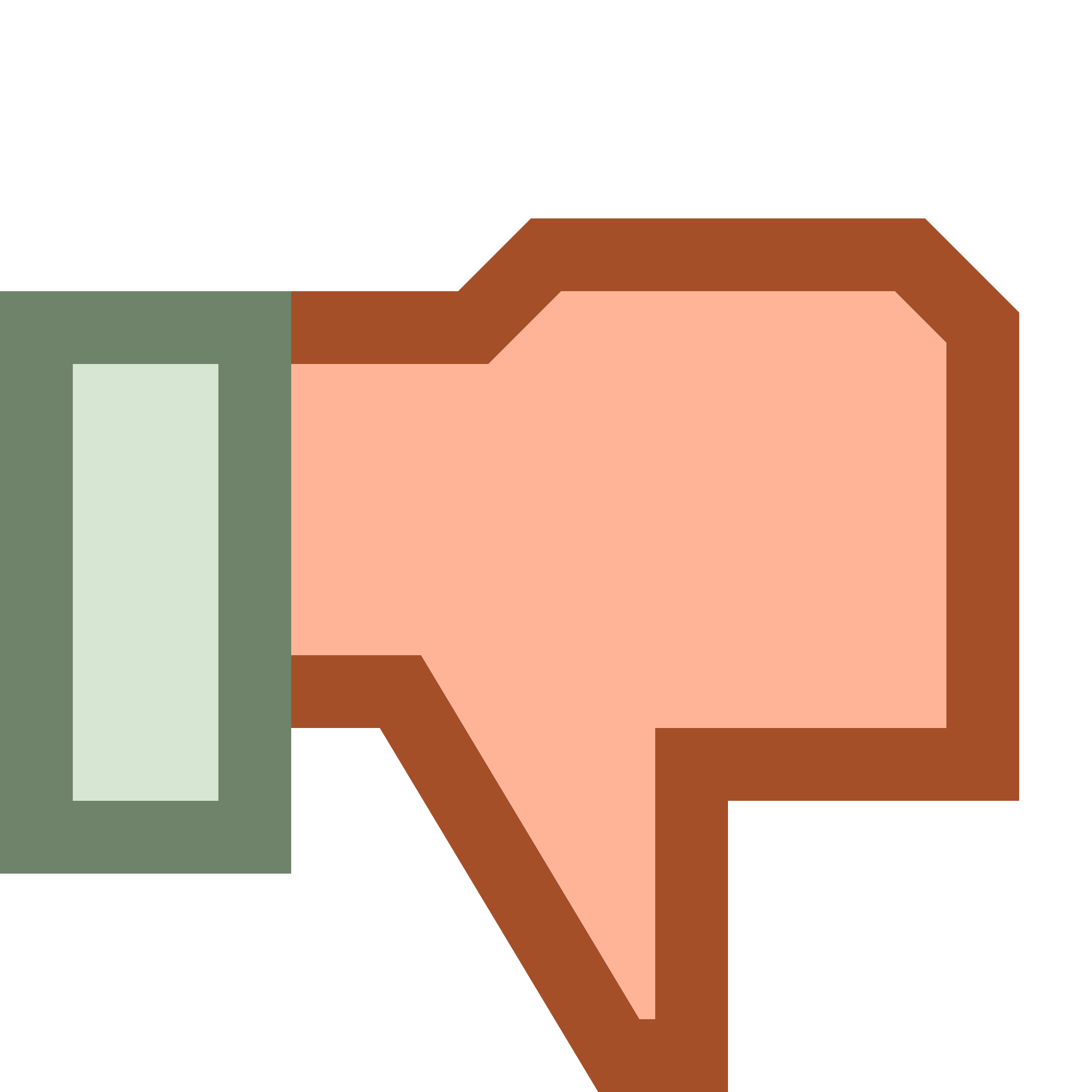 Thumb down Dislike by Steren