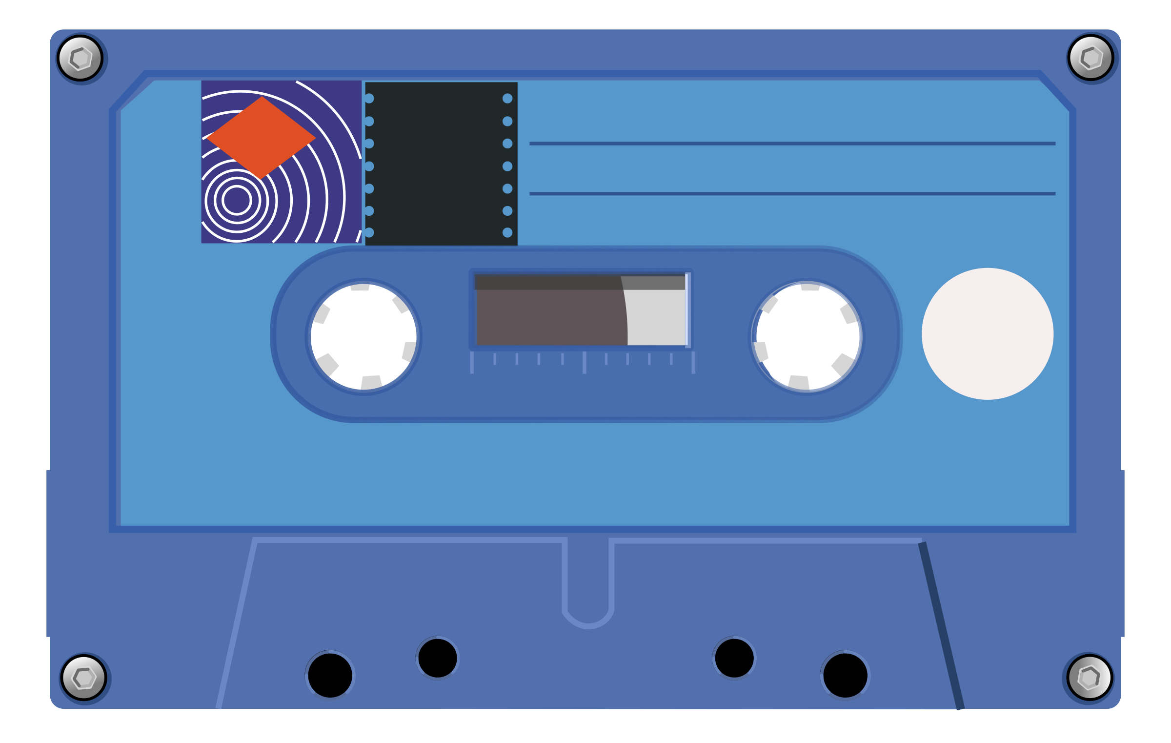 Compact cassette by h0us3s