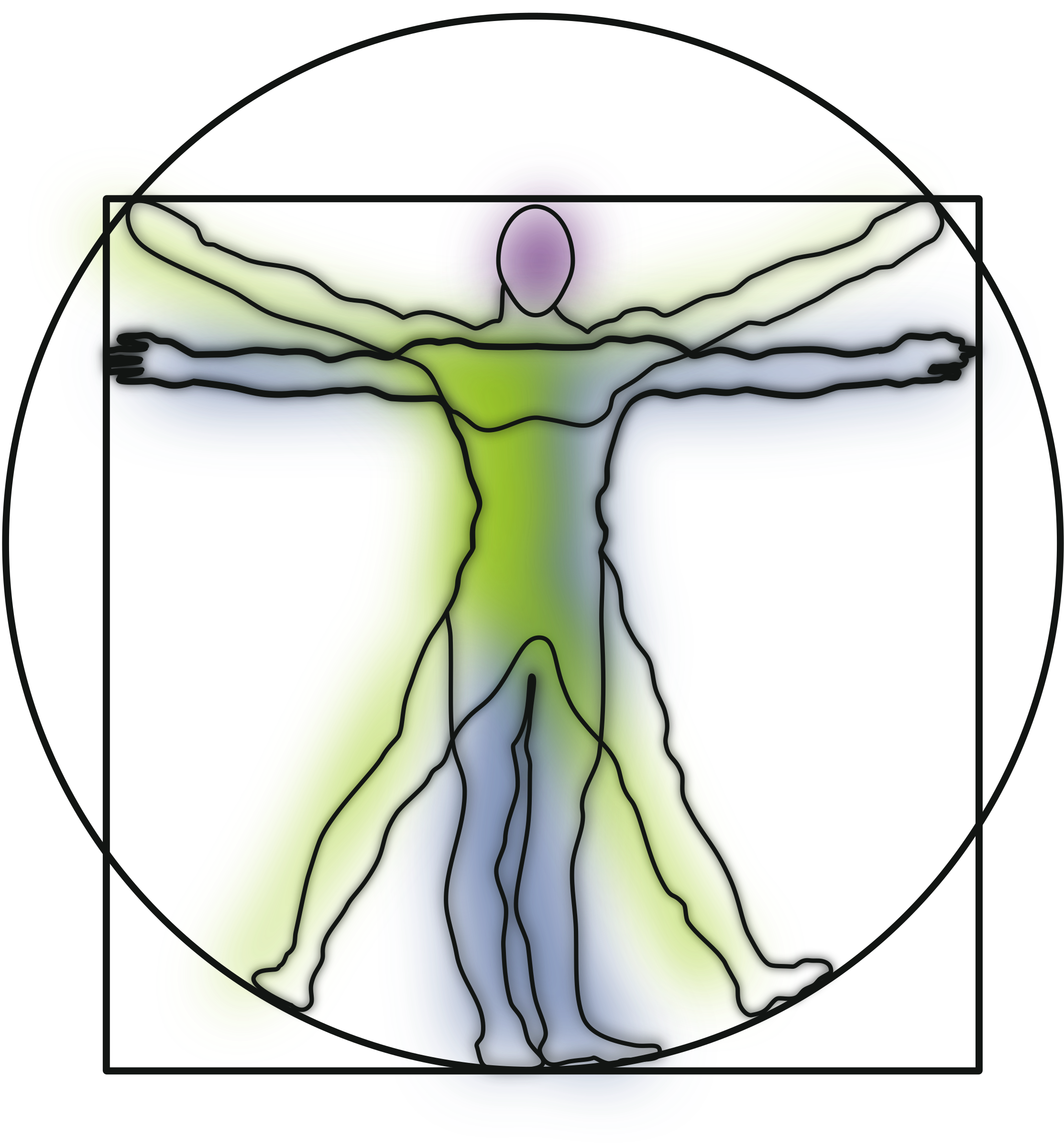 Vitruvian Man by harmonic