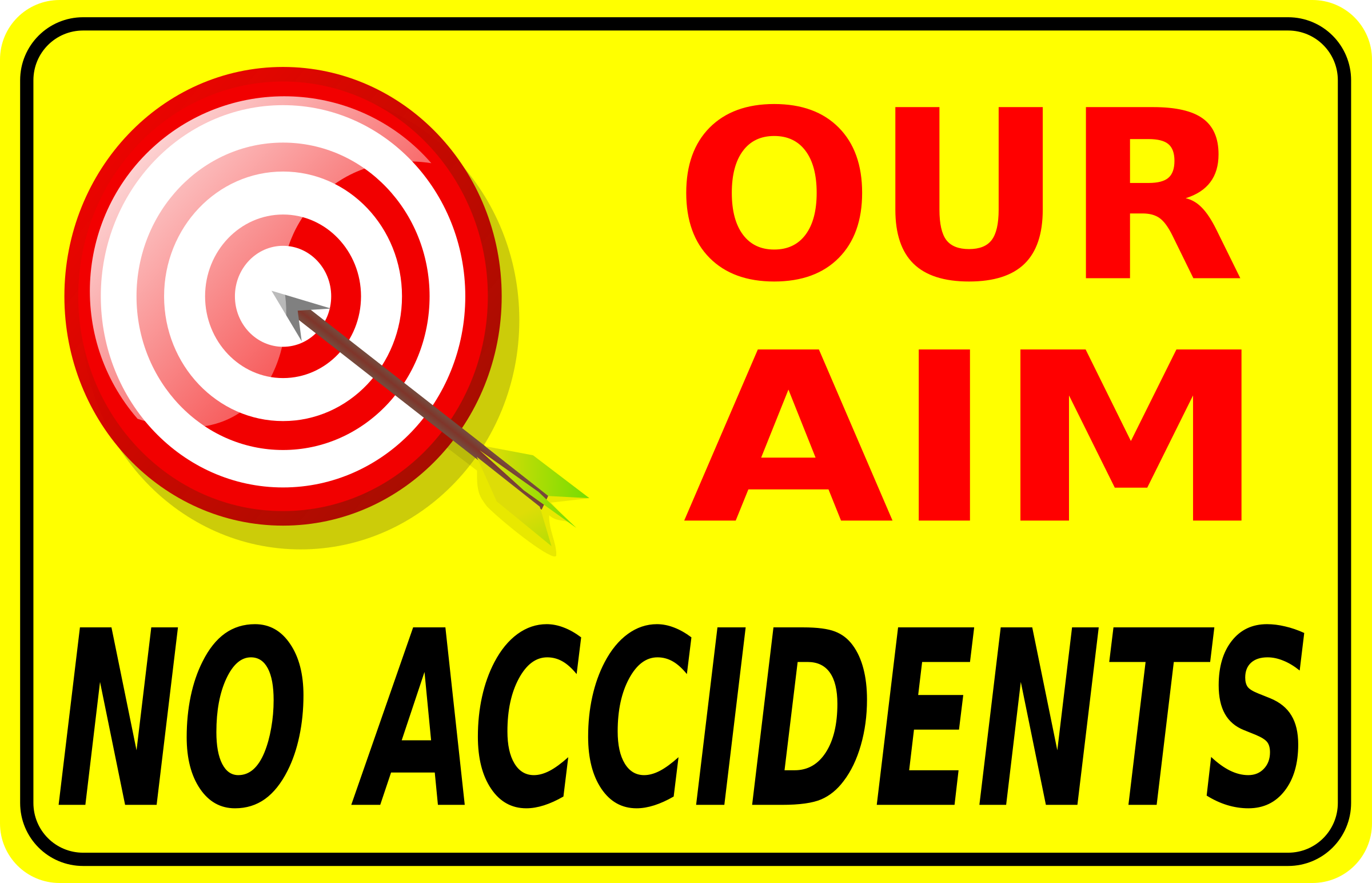 Our aim no accidents by Iyo