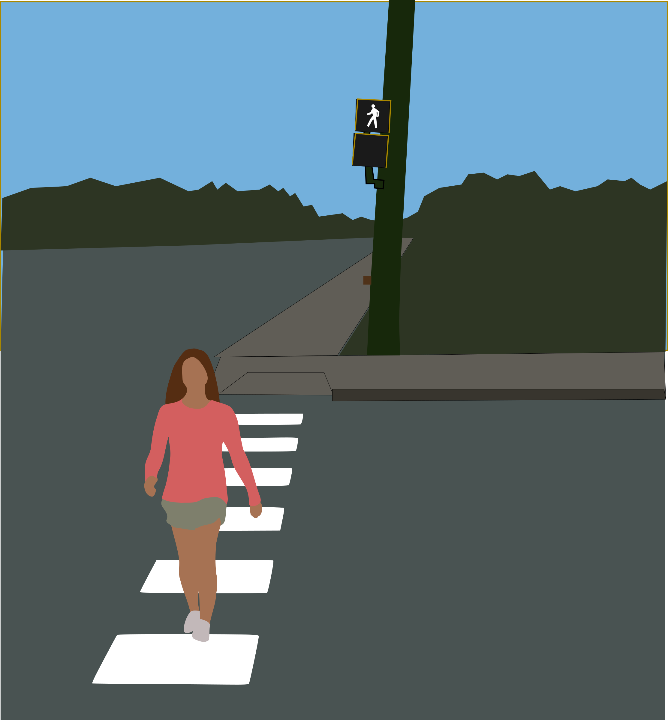 Crosswalk by mazeo