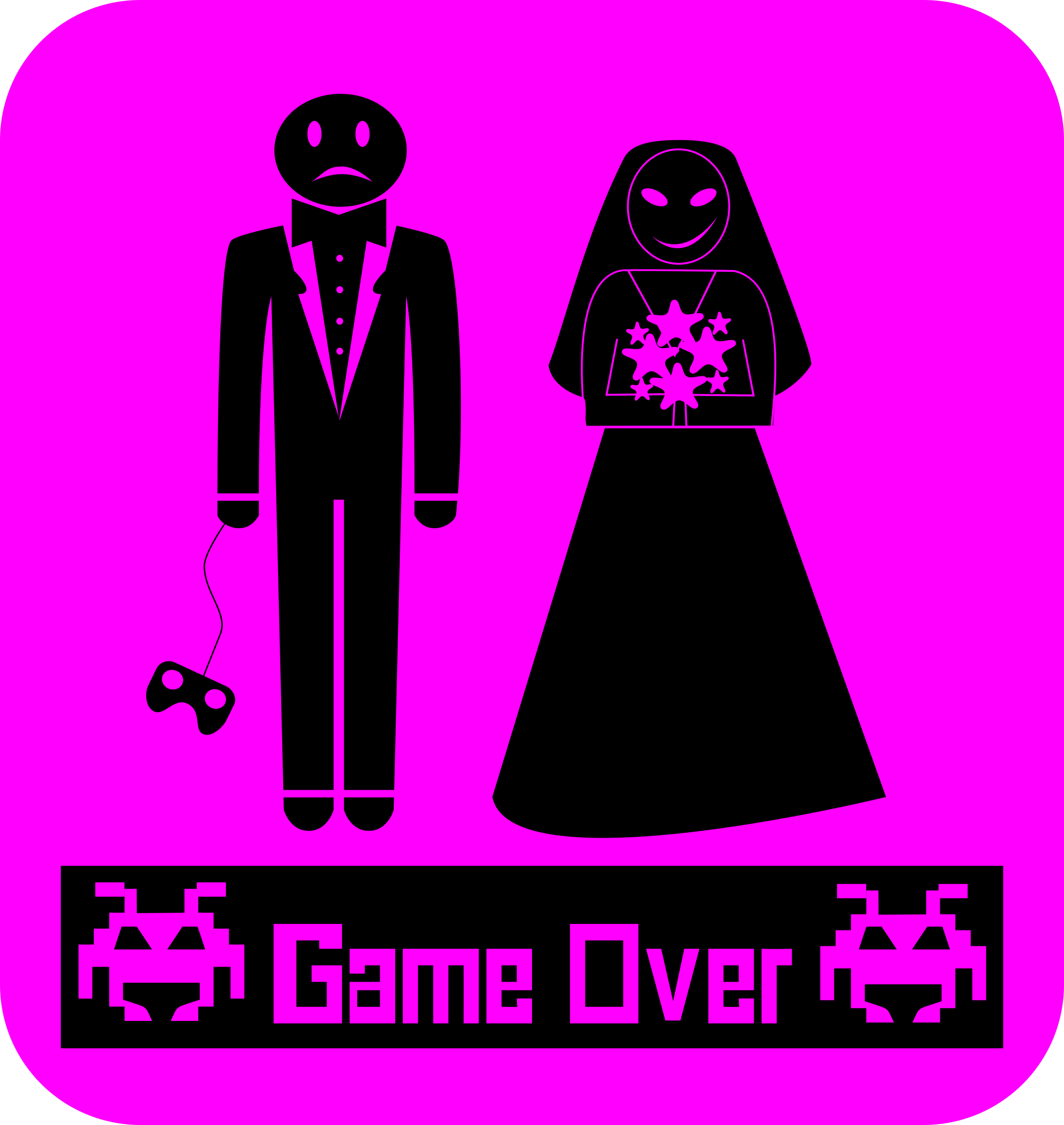 GameOverBoda by aguasas