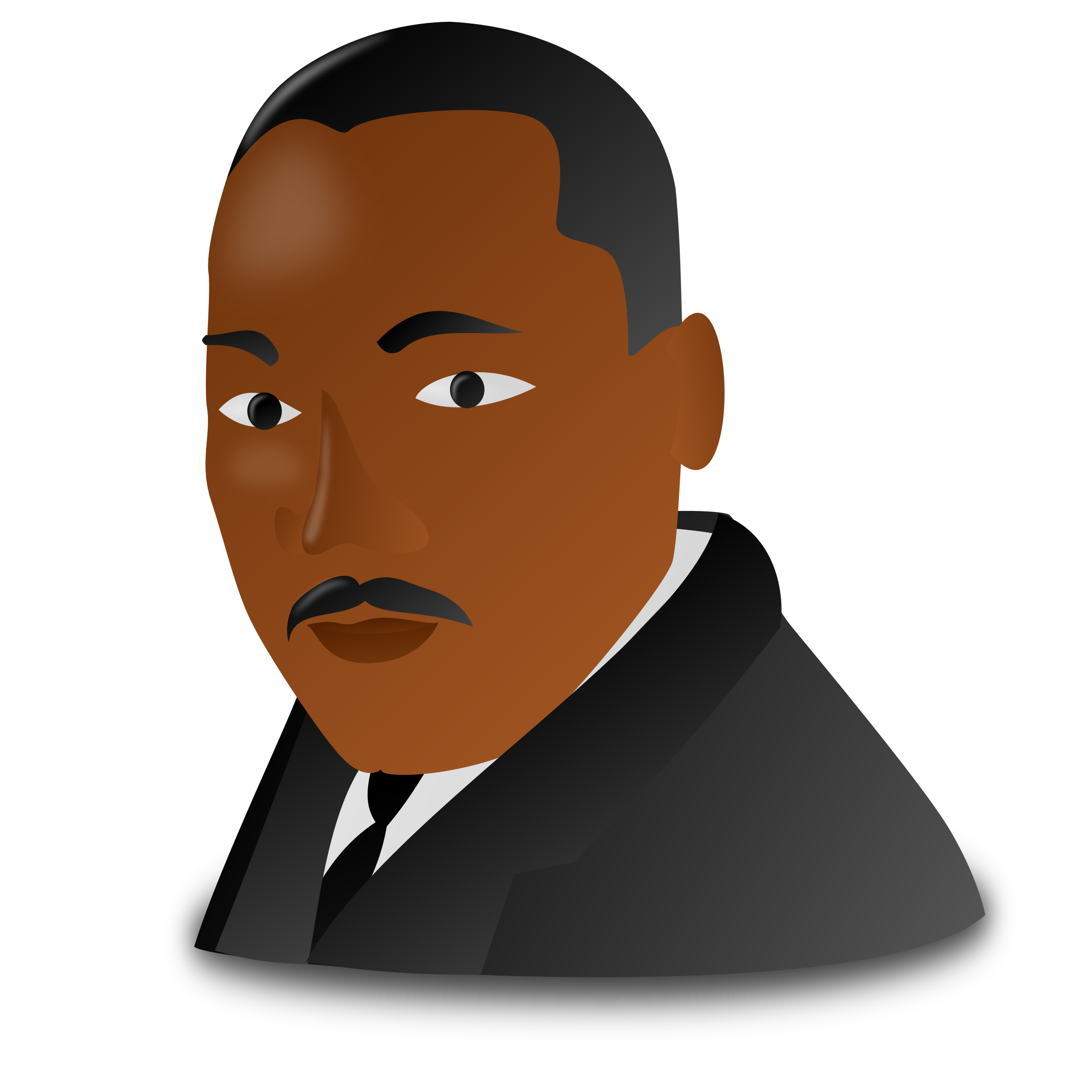 Martin Luther King Jr. Day Icon by nicubunu