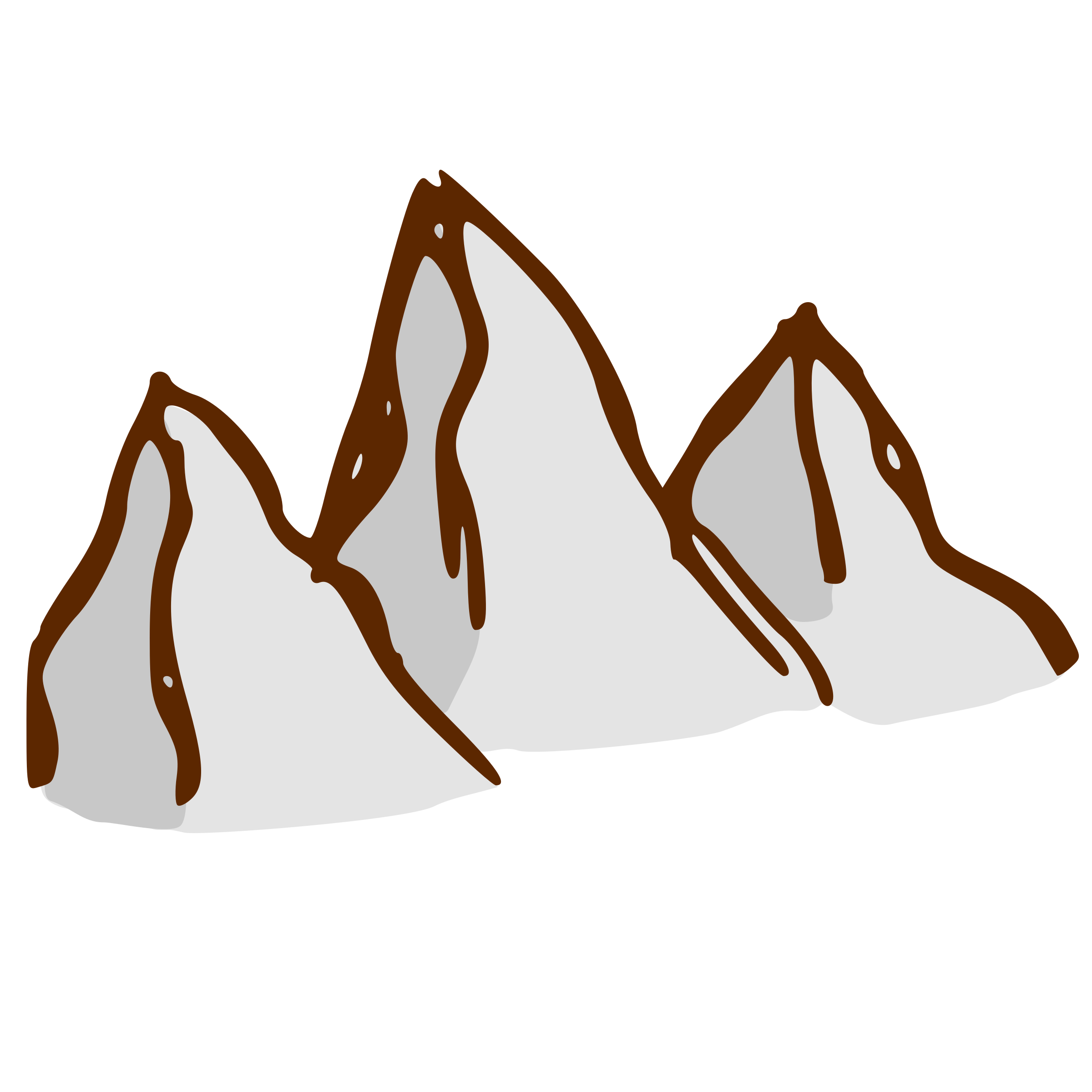 RPG map symbols: mountains by nicubunu