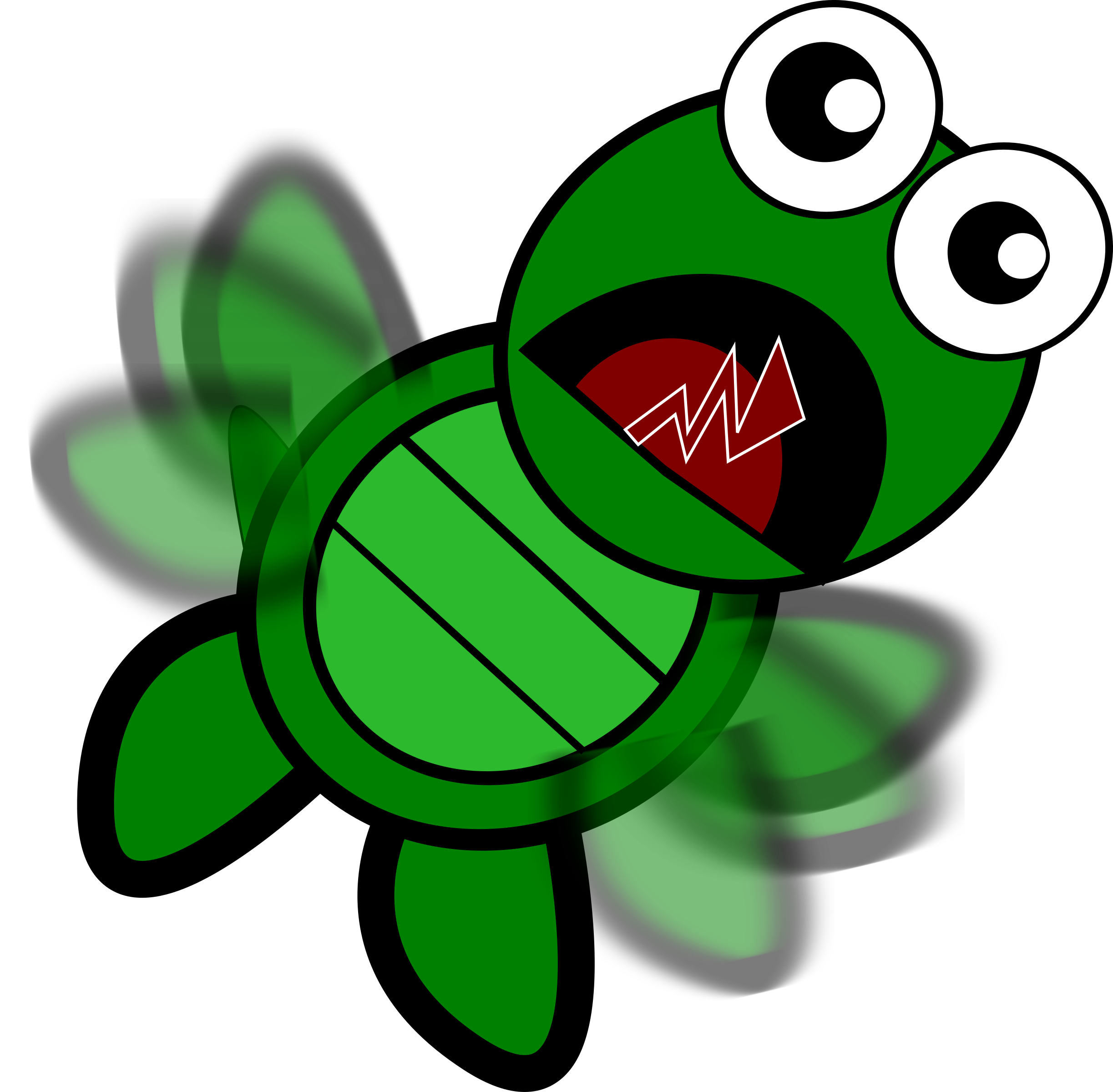 Turtle-Flapping by feraliminal