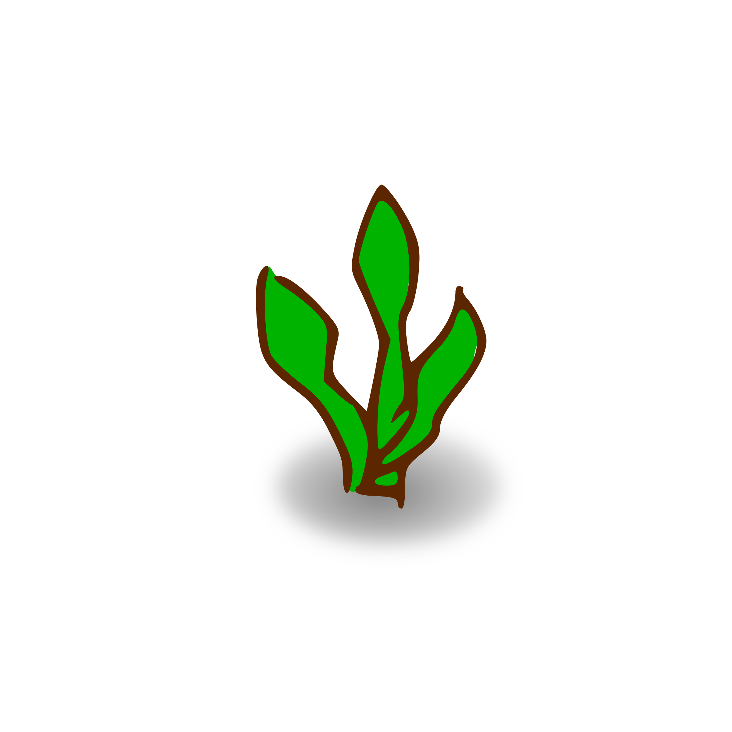 RPG map symbols: plant by nicubunu
