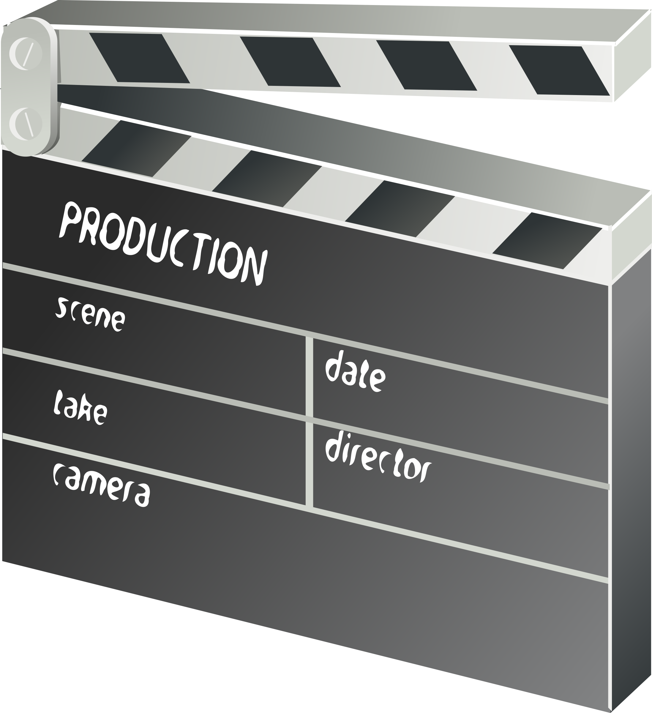 other movie clapper-board by rg1024