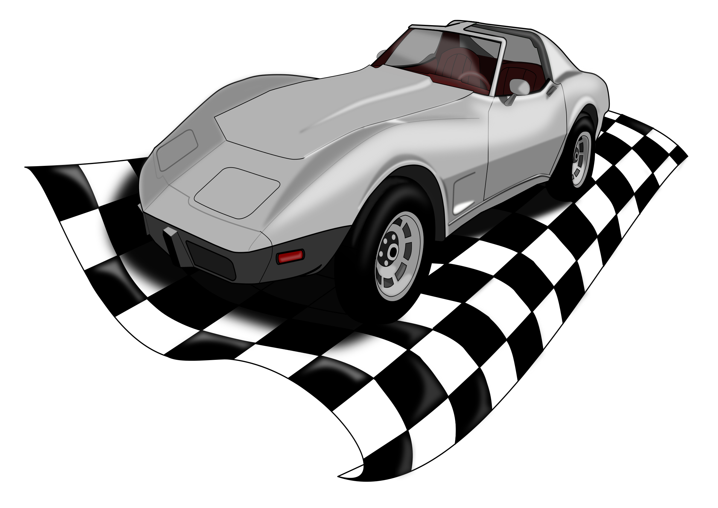 Checkervette by dashell