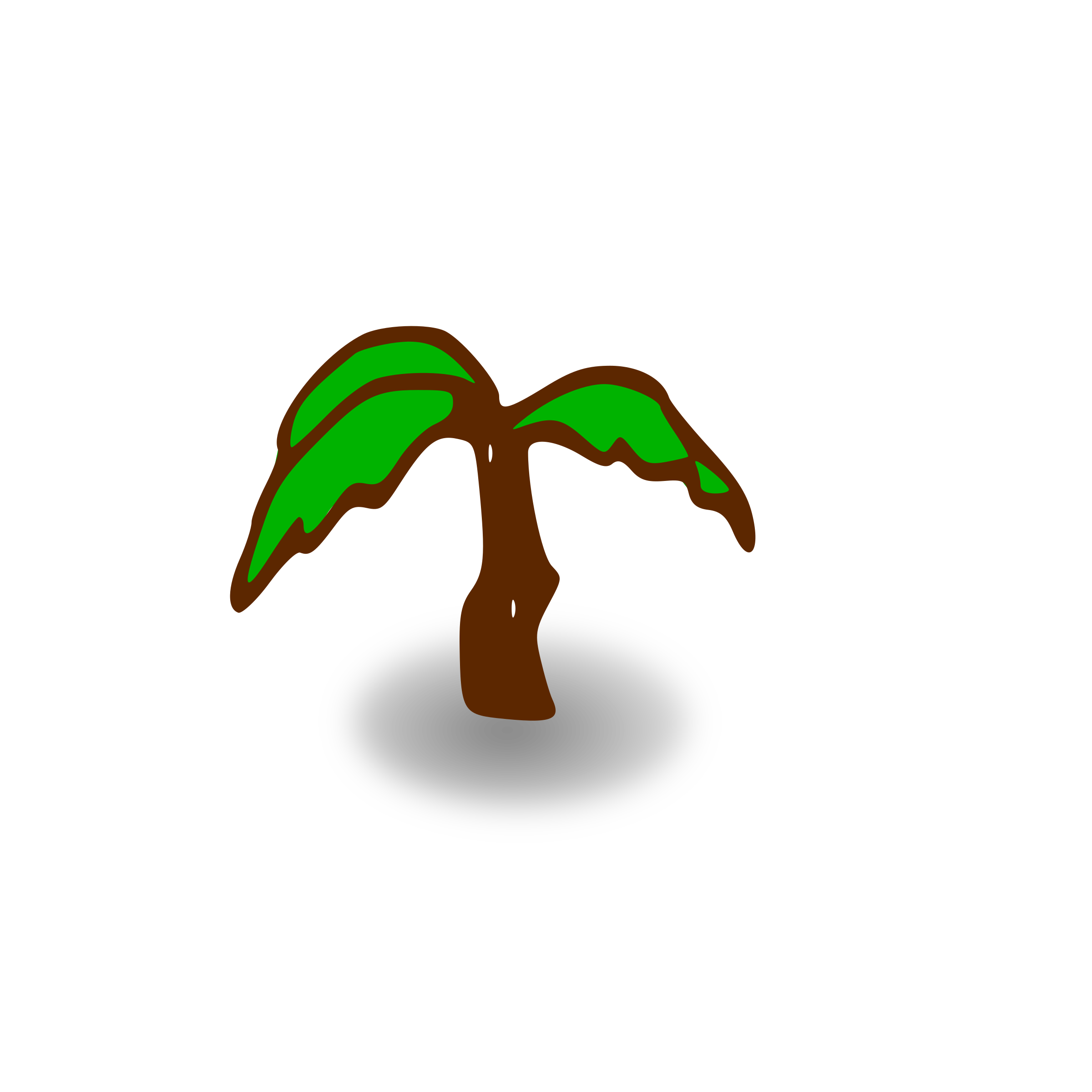 Clipart Rpg Map Symbols Palm Tree