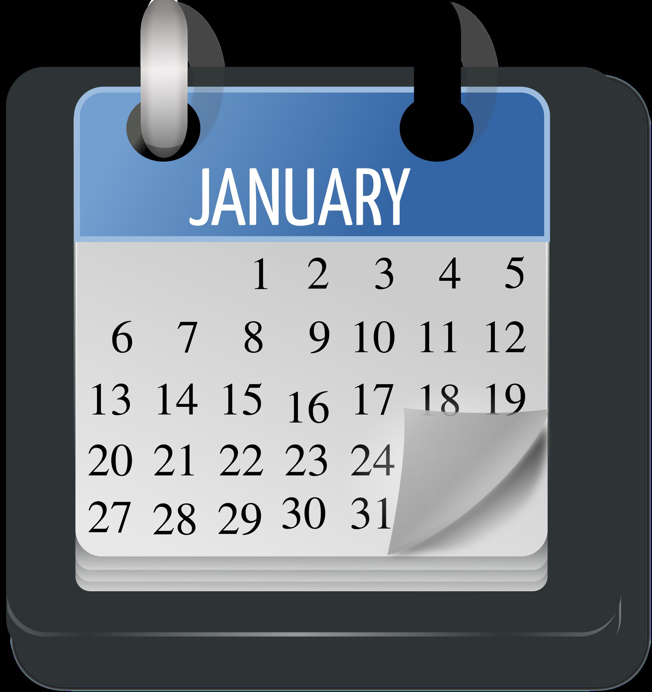 Clipart - Calendar Month