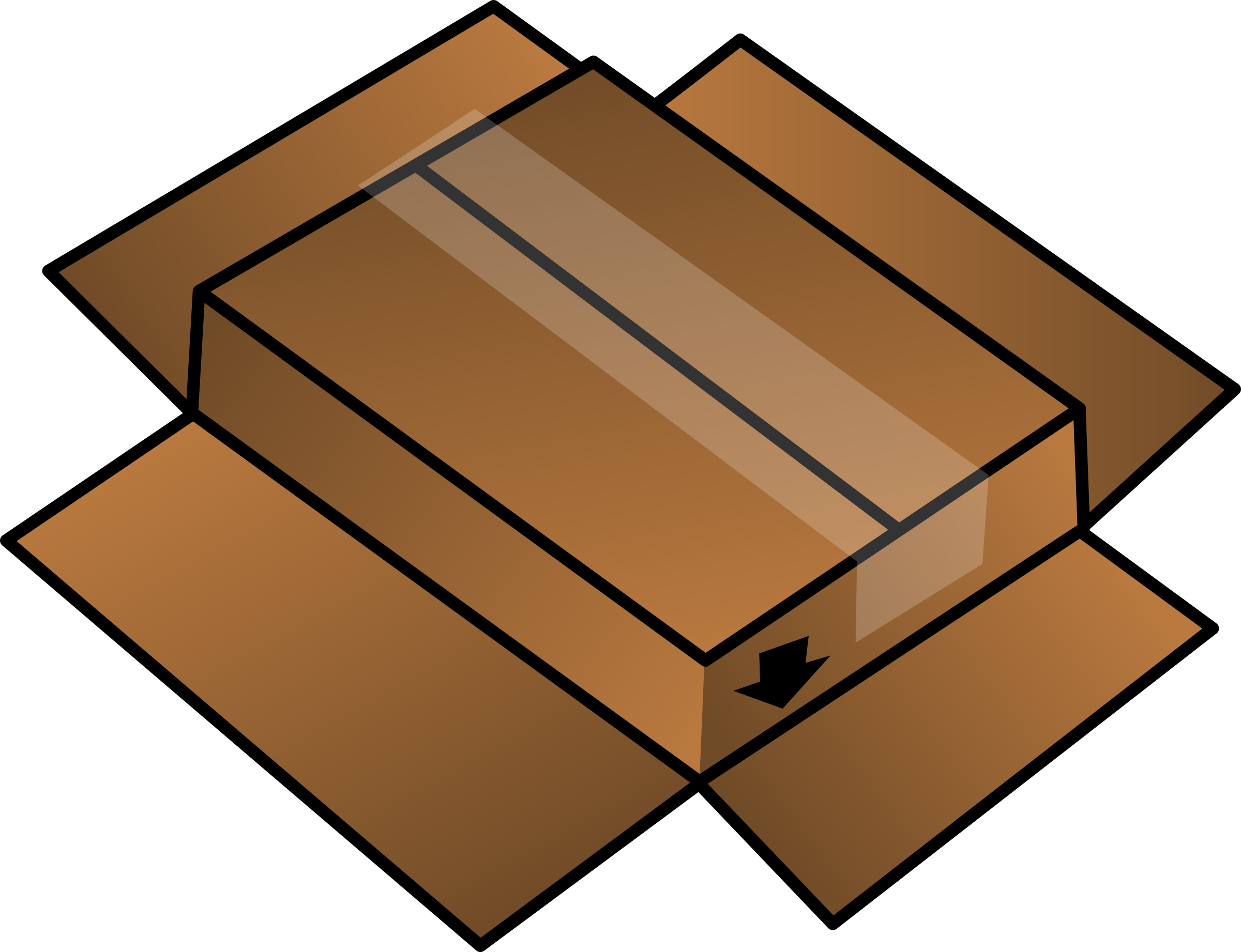 Cardboard Box turned around by rdevries