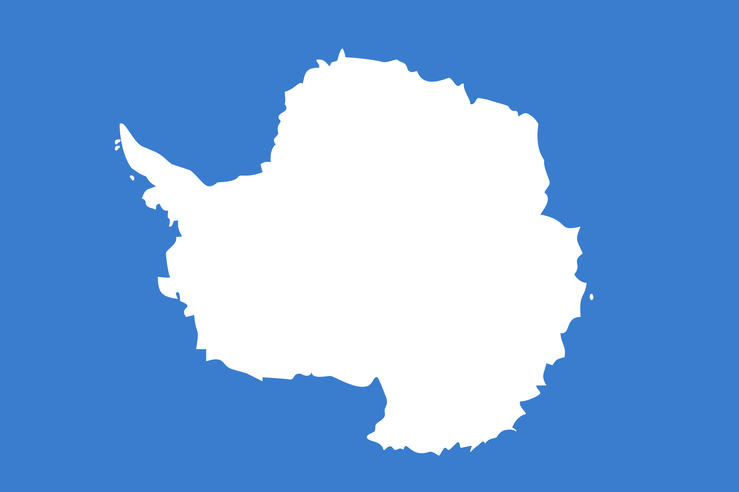 Antarctica flag by Anonymous