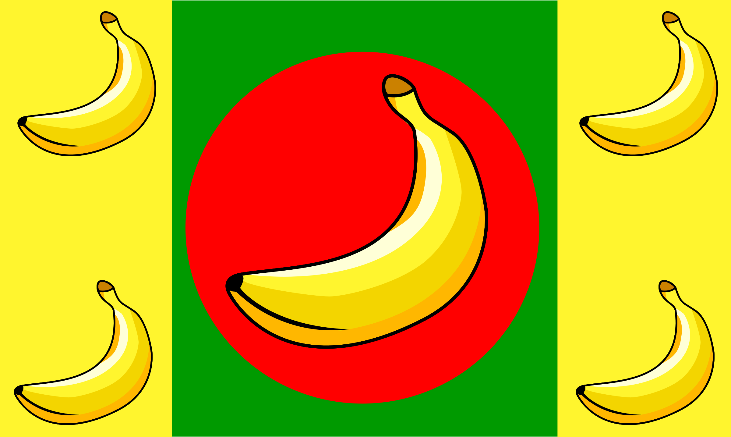 Banana Republic Flag by Anonymous