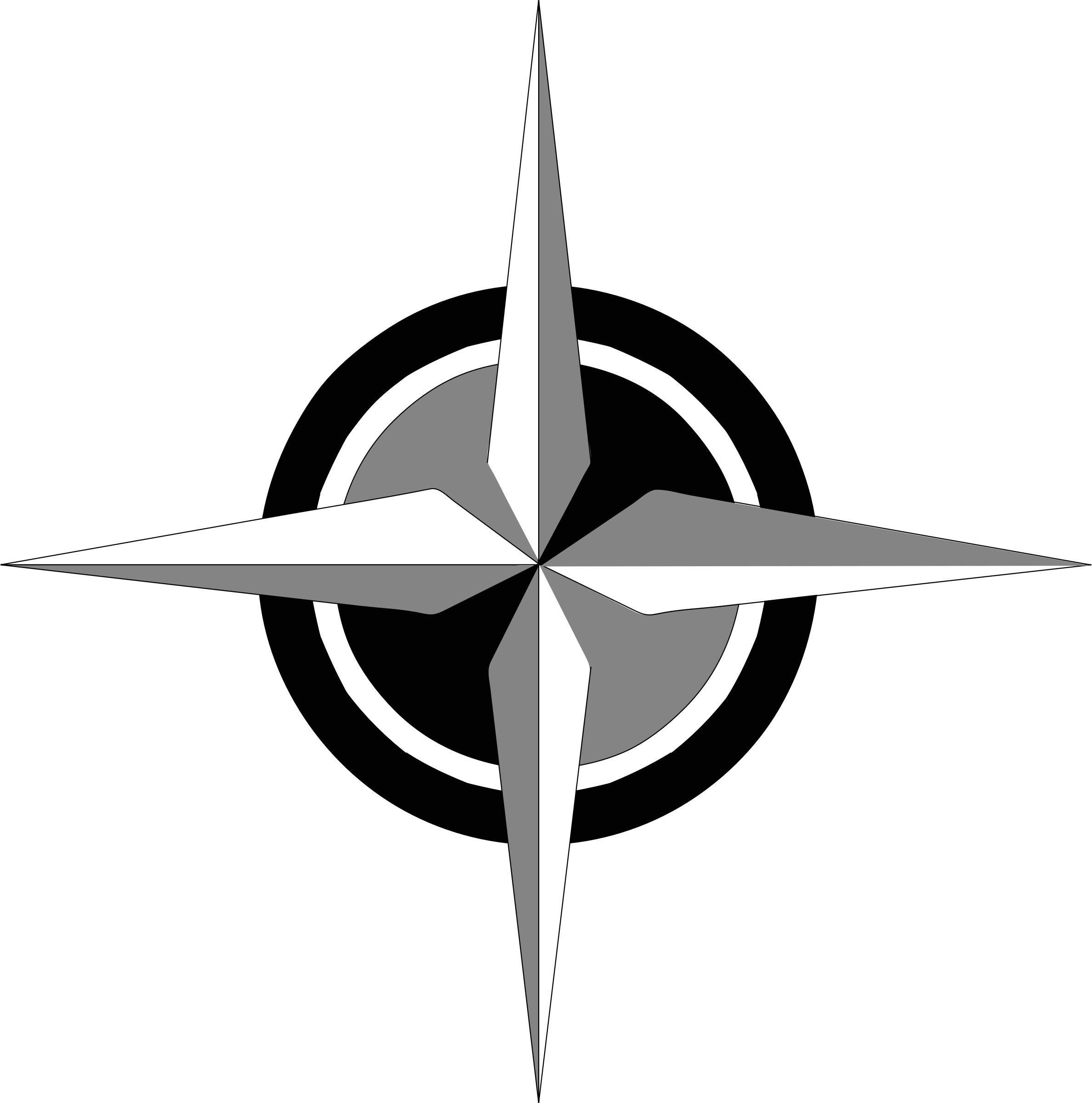 compass rose 1 by Anonymous