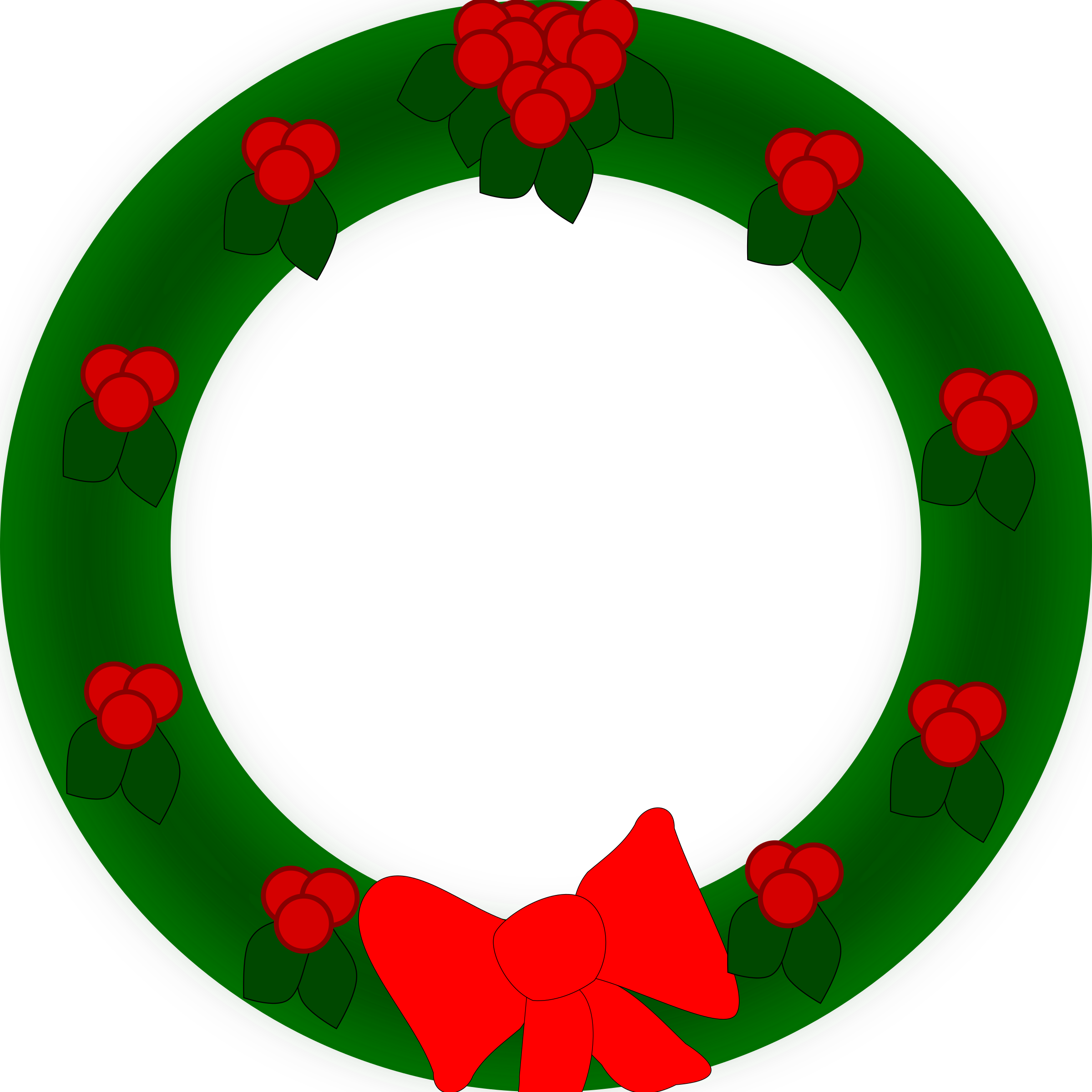 Holiday Wreath by semjaza
