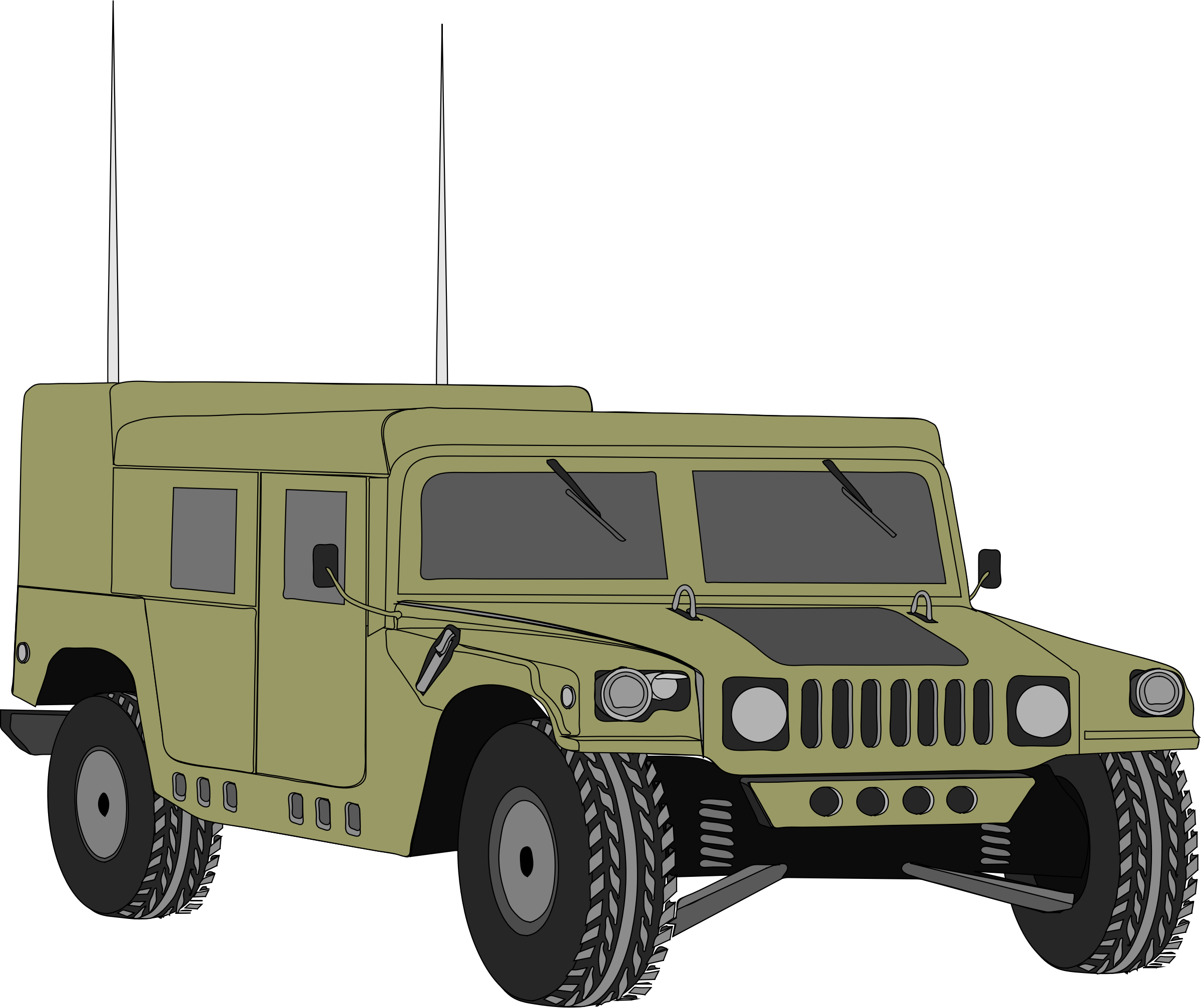 Humvee 4 by Anonymous